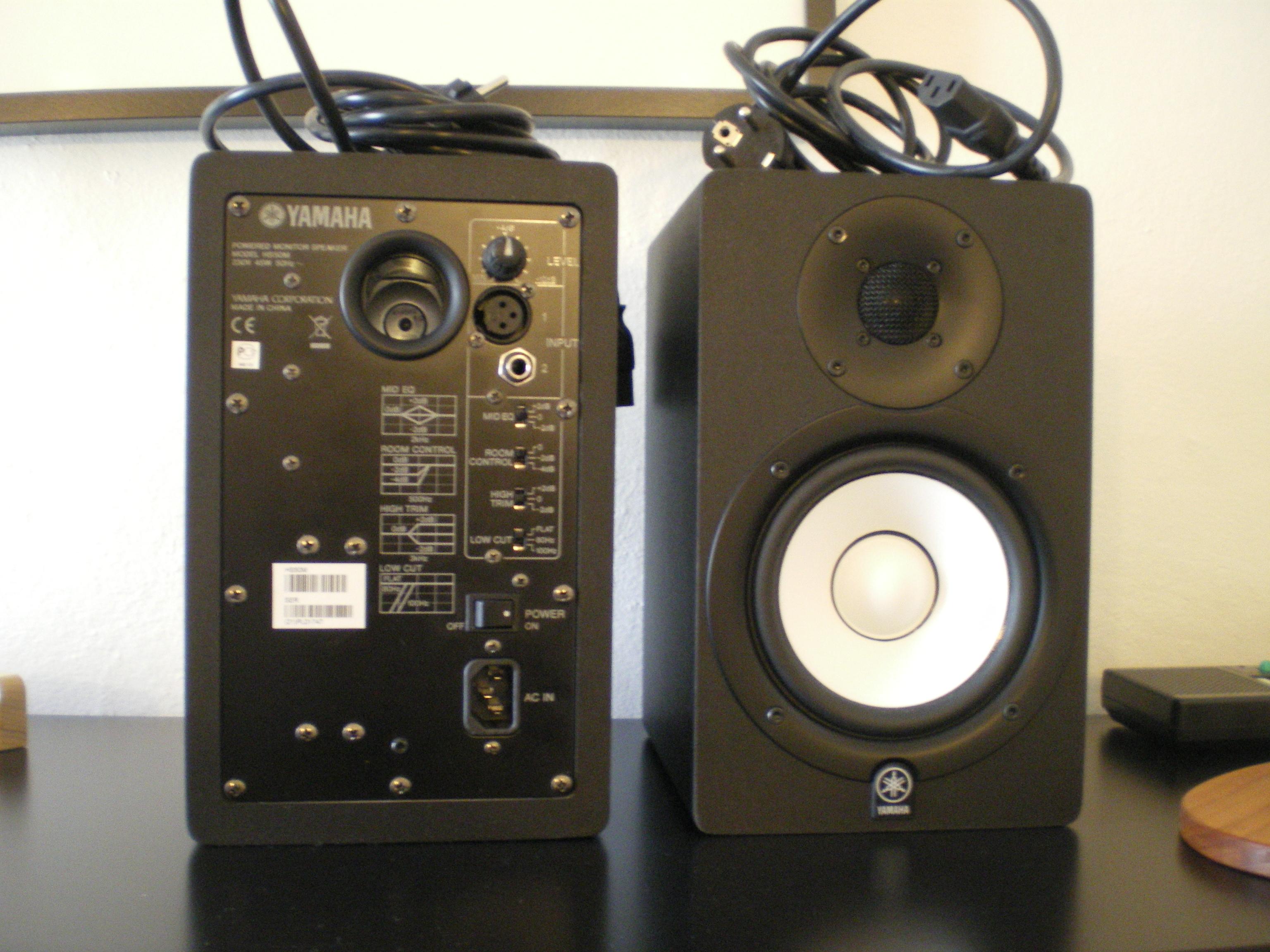 Yamaha hs50m image 300626 audiofanzine for Yamaha hs50m review