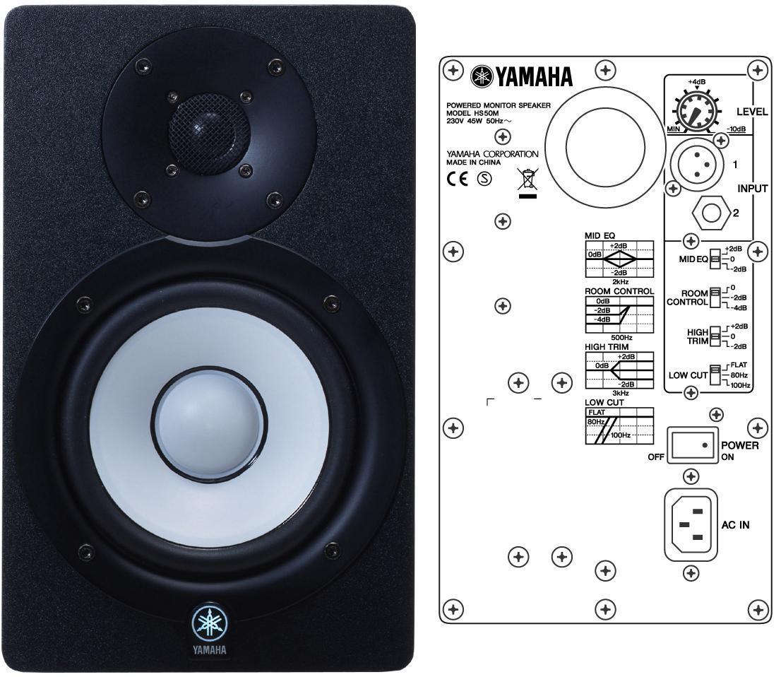 Yamaha hs50m image 482911 audiofanzine for Yamaha hs50m review