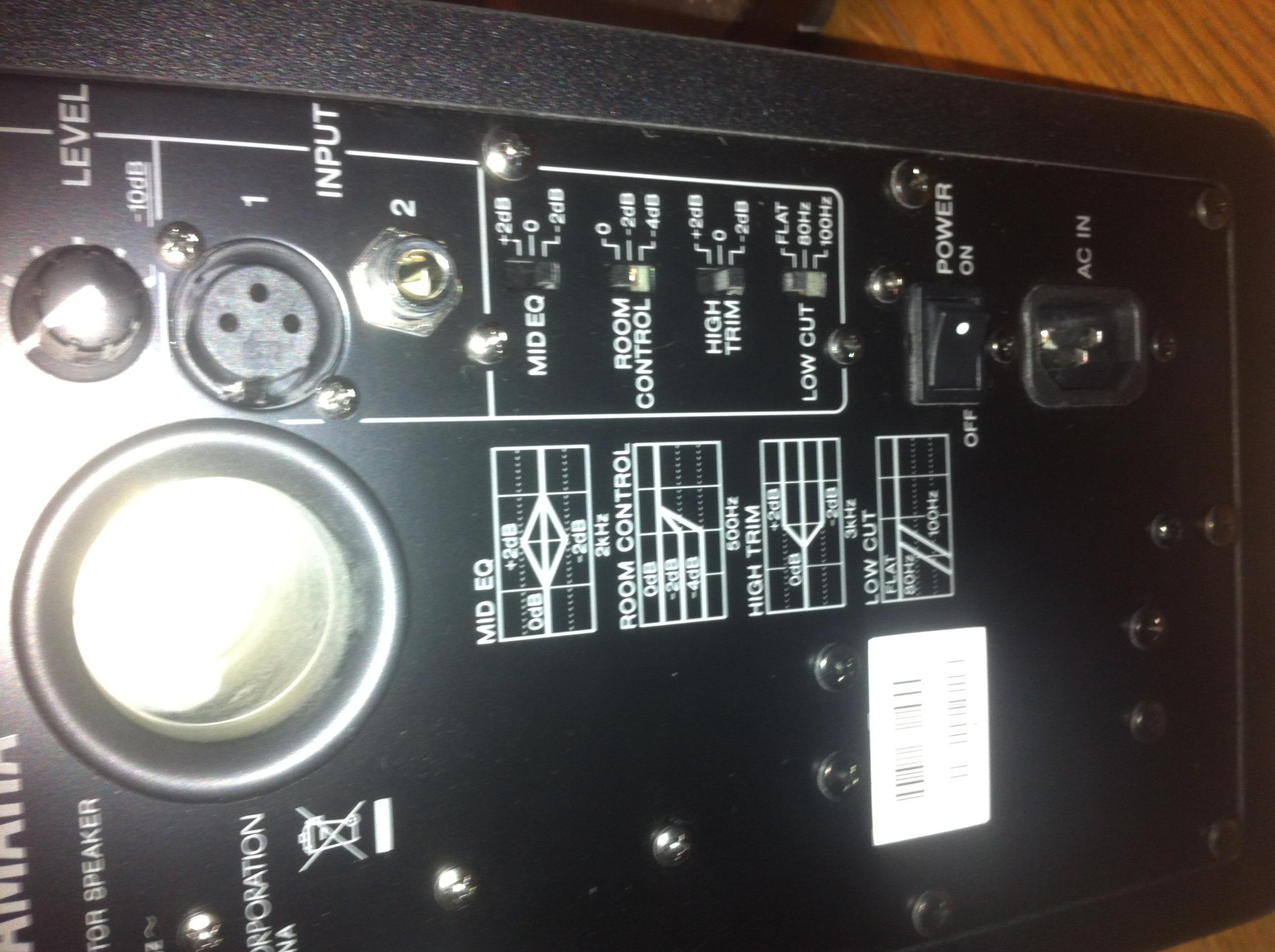 Yamaha hs50m image 495345 audiofanzine for Yamaha hs50m review
