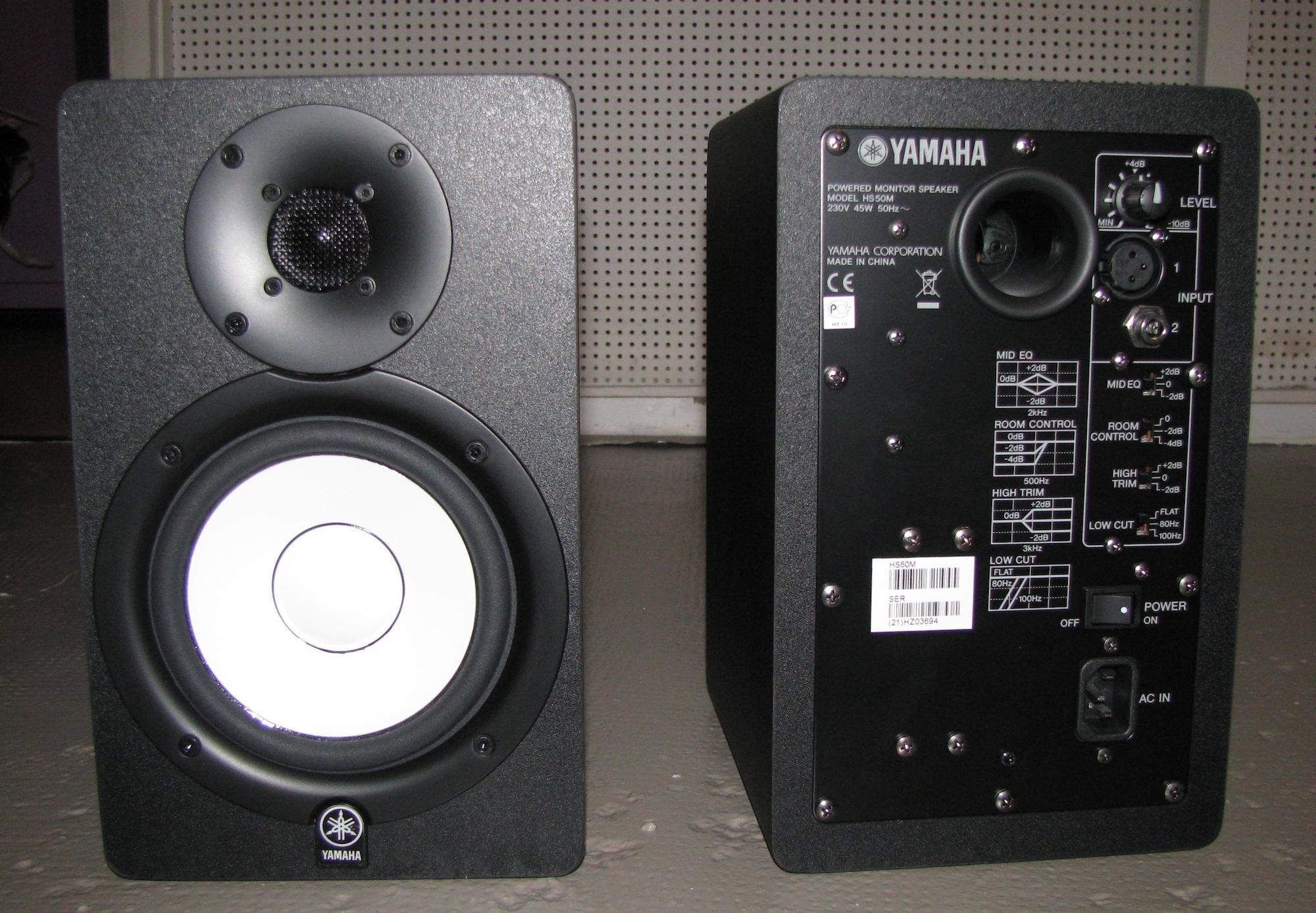 Yamaha hs50m image 589356 audiofanzine for Yamaha hs50m review