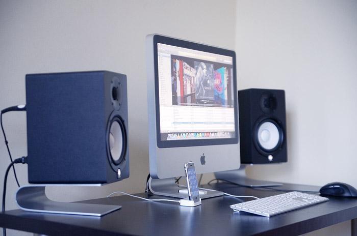 Yamaha hs50m image 628448 audiofanzine for Yamaha hs5 speaker stands