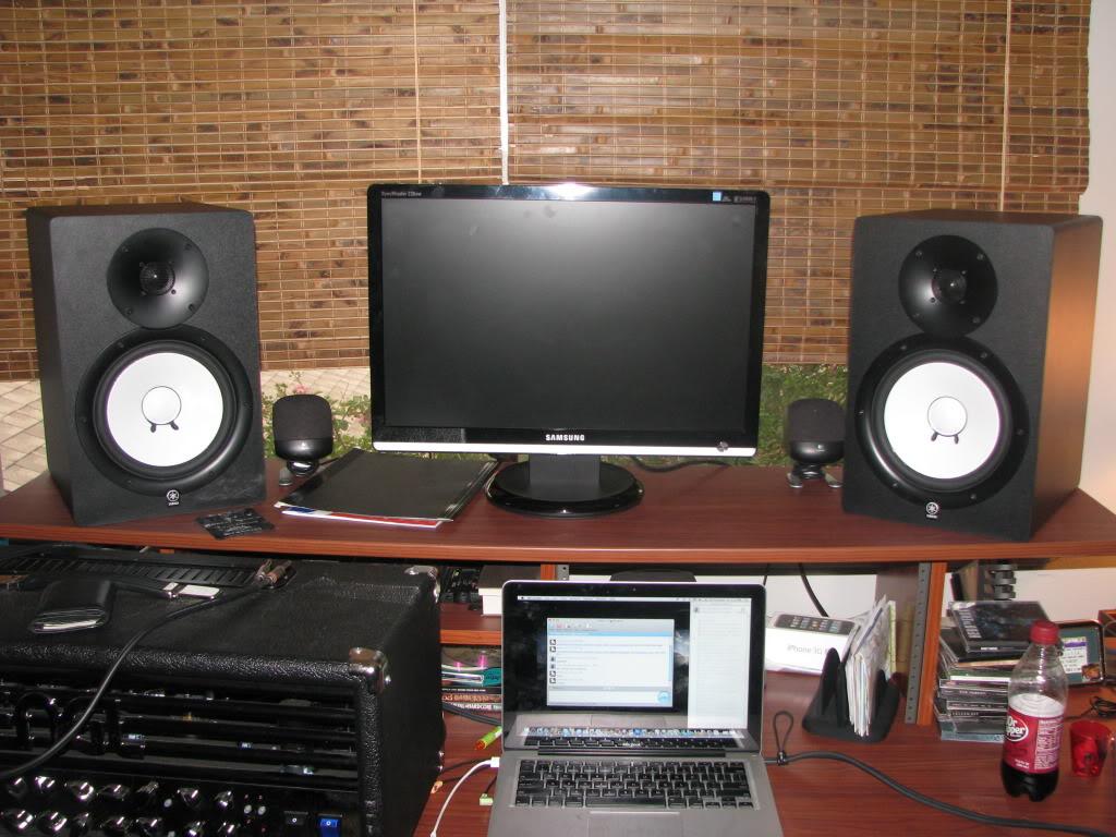 yamaha hs80m image 285485 audiofanzine. Black Bedroom Furniture Sets. Home Design Ideas