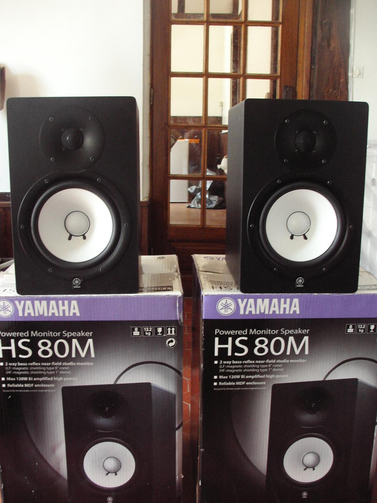yamaha hs80m image 373996 audiofanzine. Black Bedroom Furniture Sets. Home Design Ideas