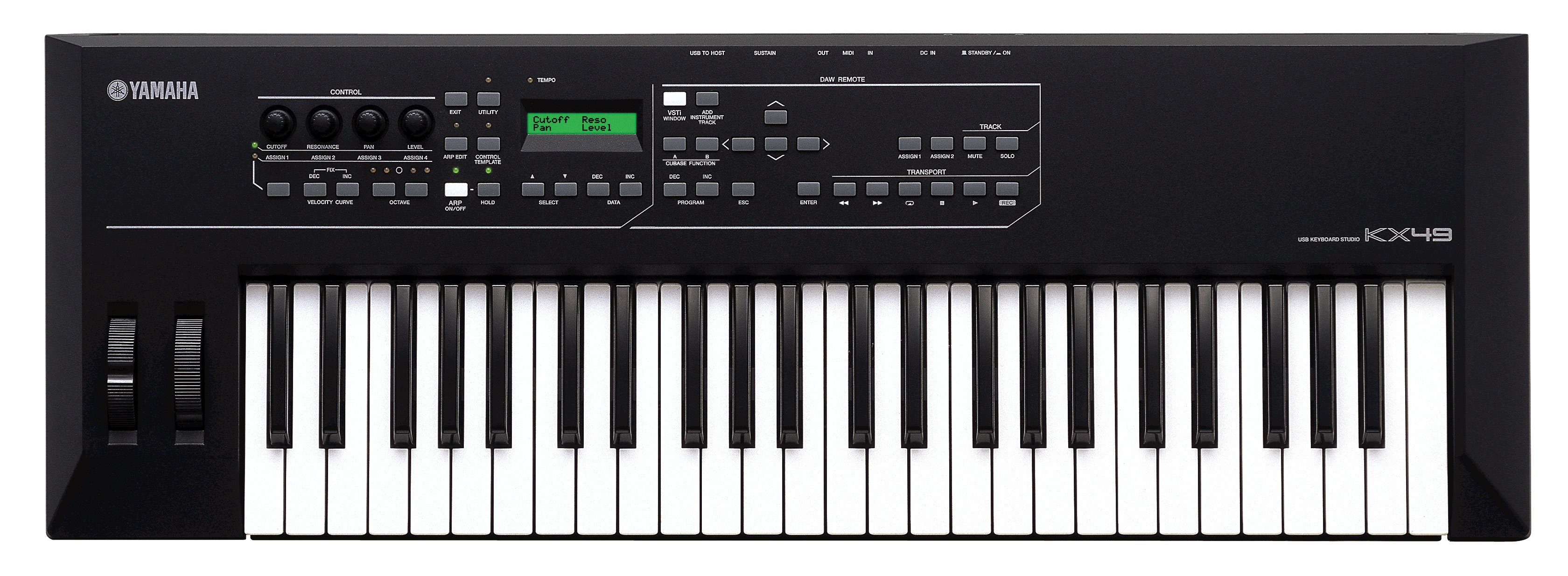 Yamaha Kx Aftertouch