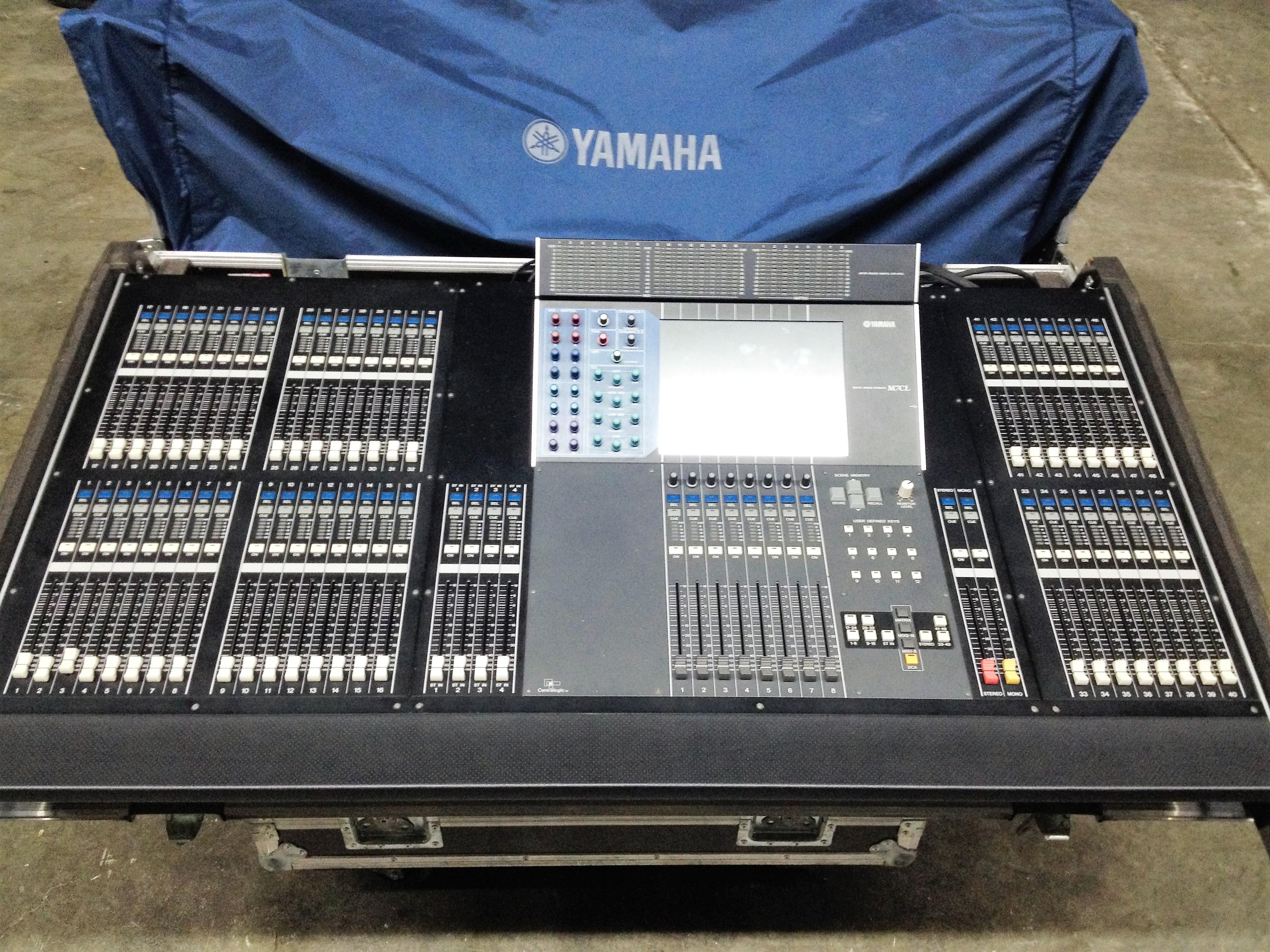 Yamaha m7cl 48 image 1789361 audiofanzine for Yamaha m7cl 48 price