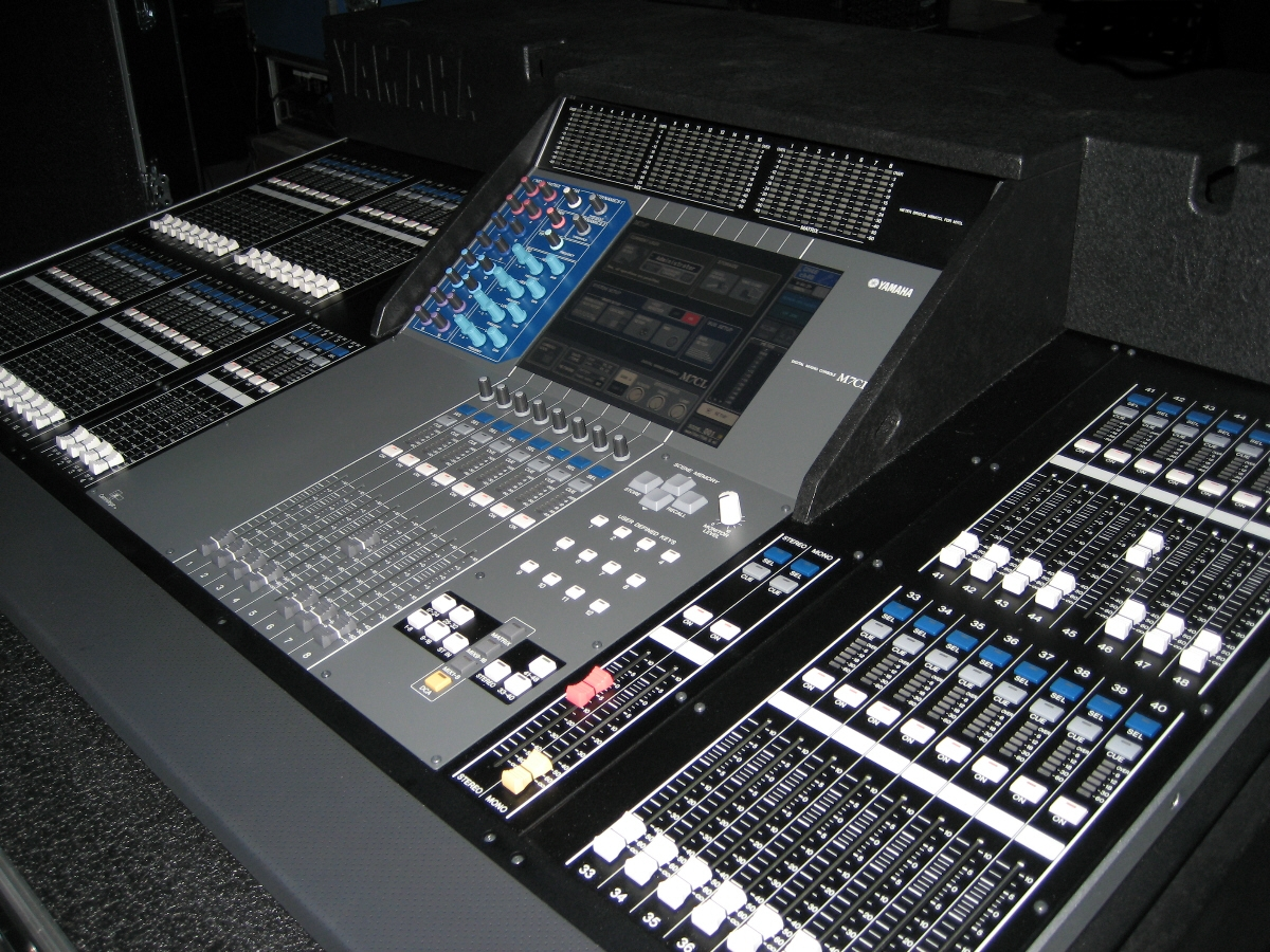 Yamaha m7cl 48 image 934512 audiofanzine for Yamaha m7cl 48 price