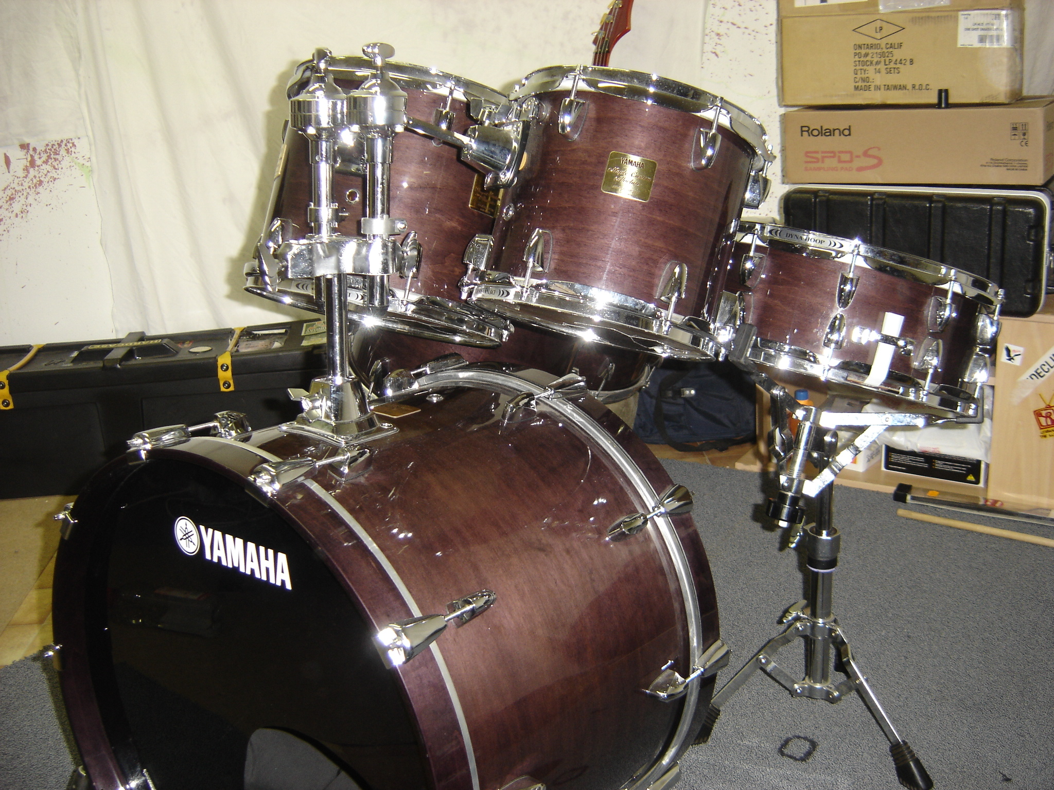 Yamaha Maple Custom Absolute Nouveau