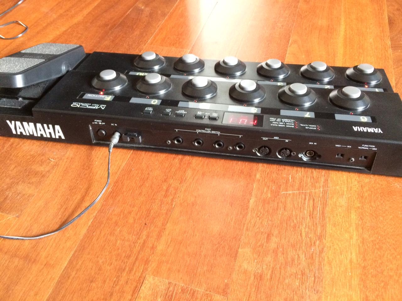 yamaha mfc 10 midi foot controller image 1477382
