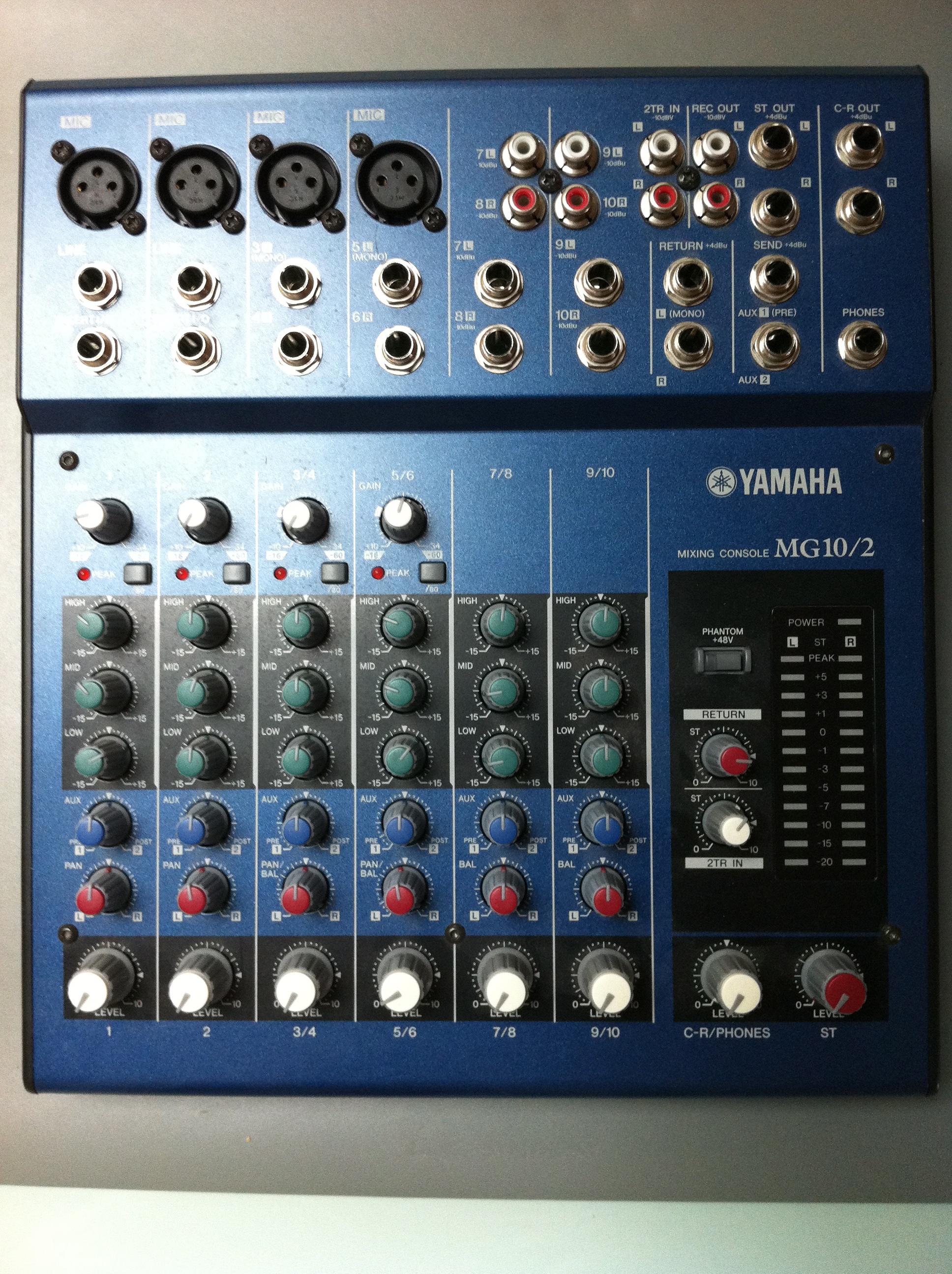 yamaha mg10 2 image 275376 audiofanzine