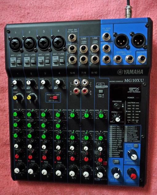 Yamaha mg10xu image 1750402 audiofanzine for Yamaha mg10xu review
