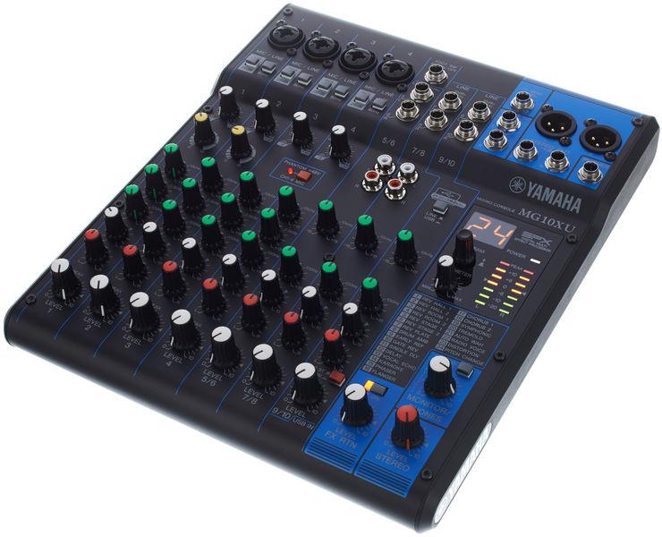 Mg10xu yamaha mg10xu audiofanzine for Yamaha sound console