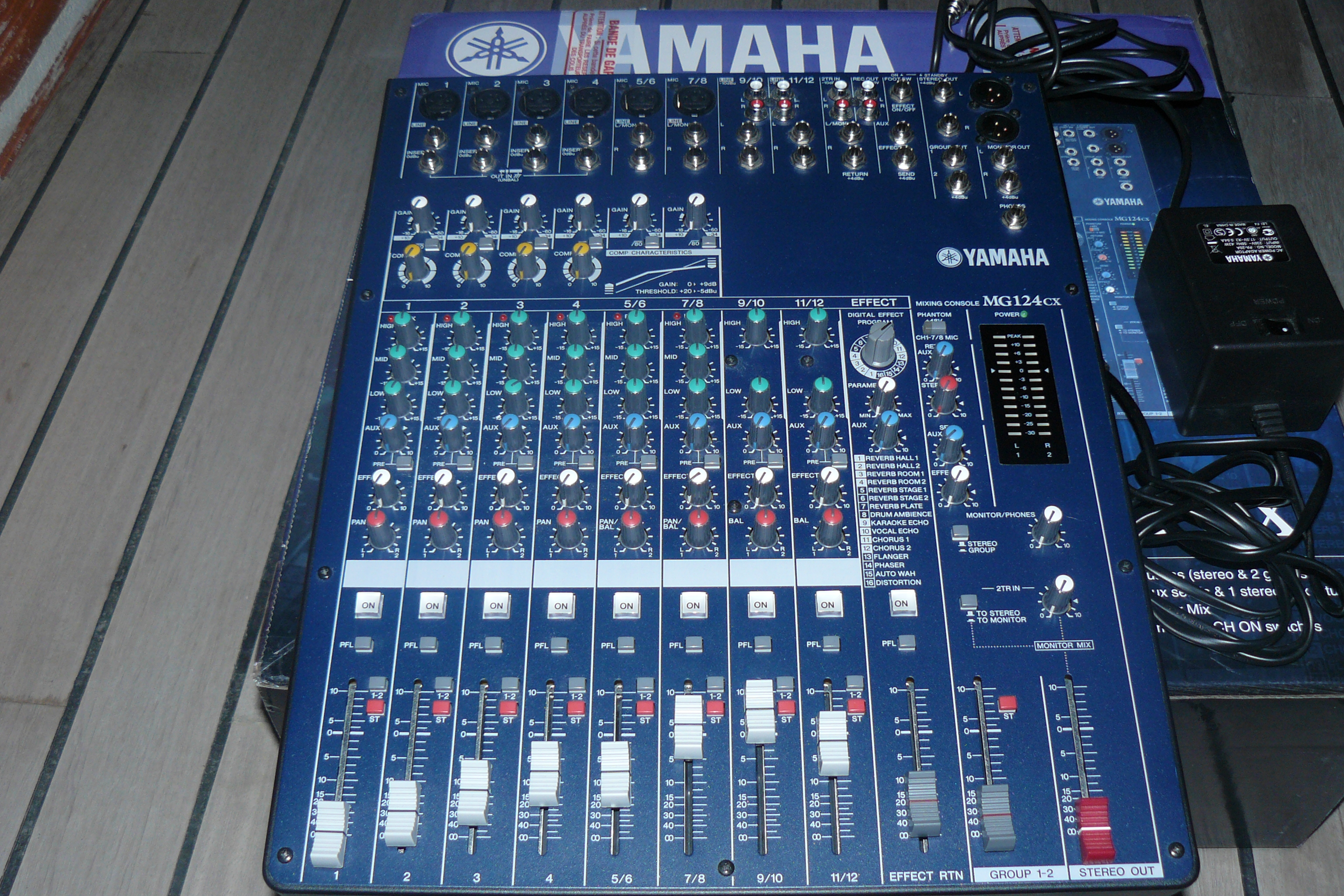 Audio Mixer Yamaha Mg Cx