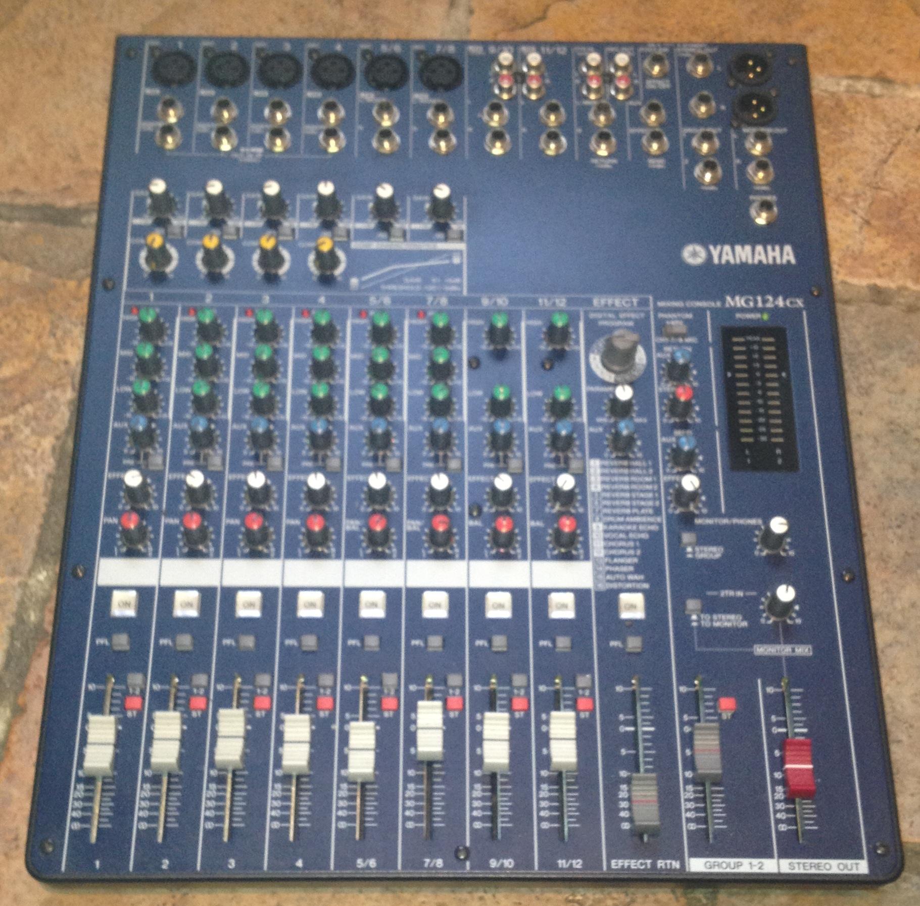 Yamaha Mg Cx