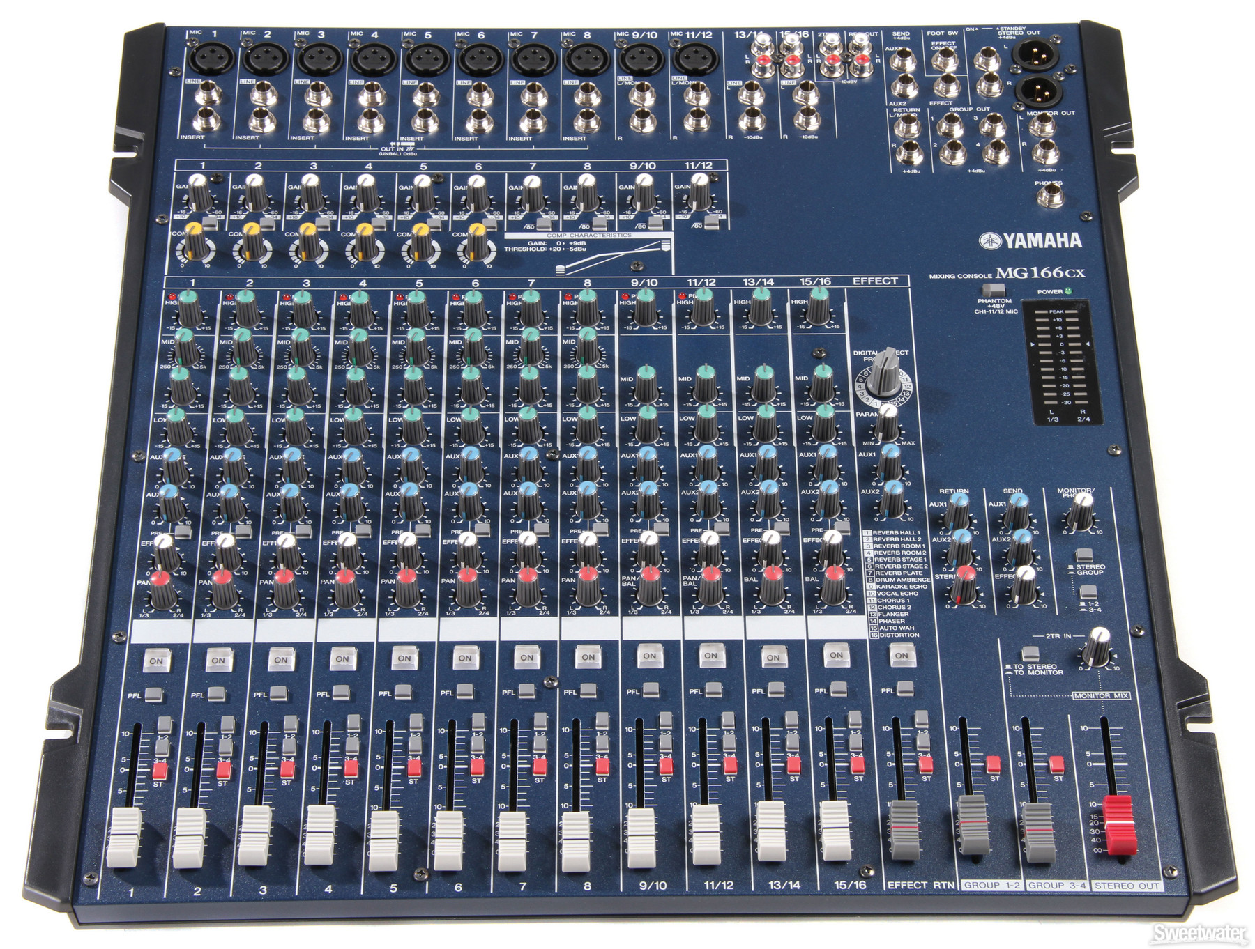 yamaha mg166cx image 691218 audiofanzine rh en audiofanzine com yamaha mg166cx mixing console manual Yamaha Mg16