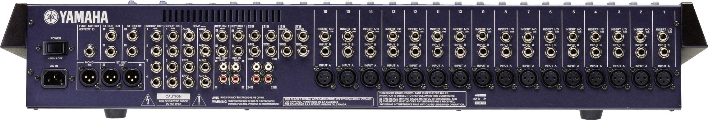 Jual] yamaha mg24/14fx 24 channel input audio mixer.