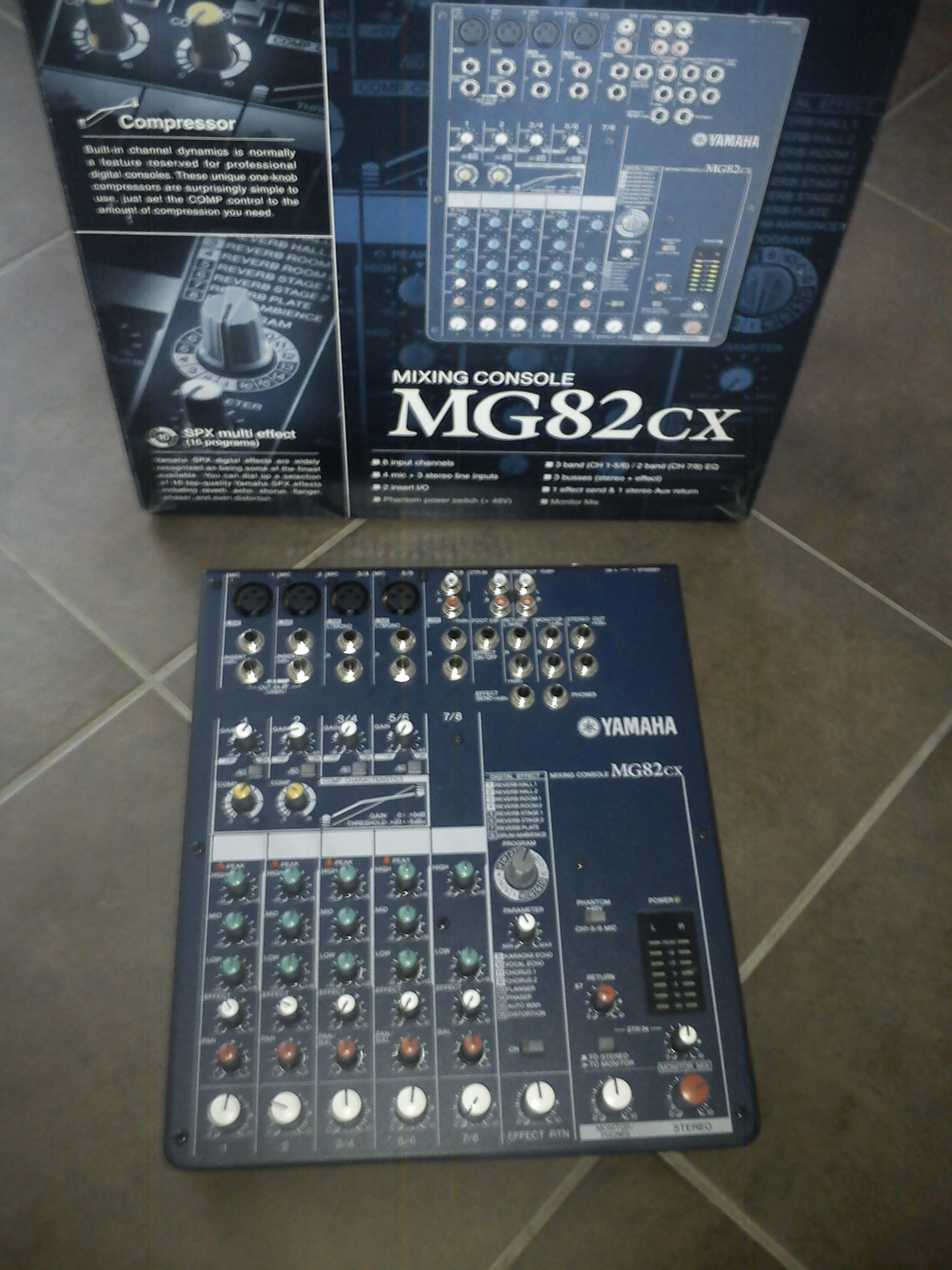 Yamaha Mixing Console Mg Cx Manual