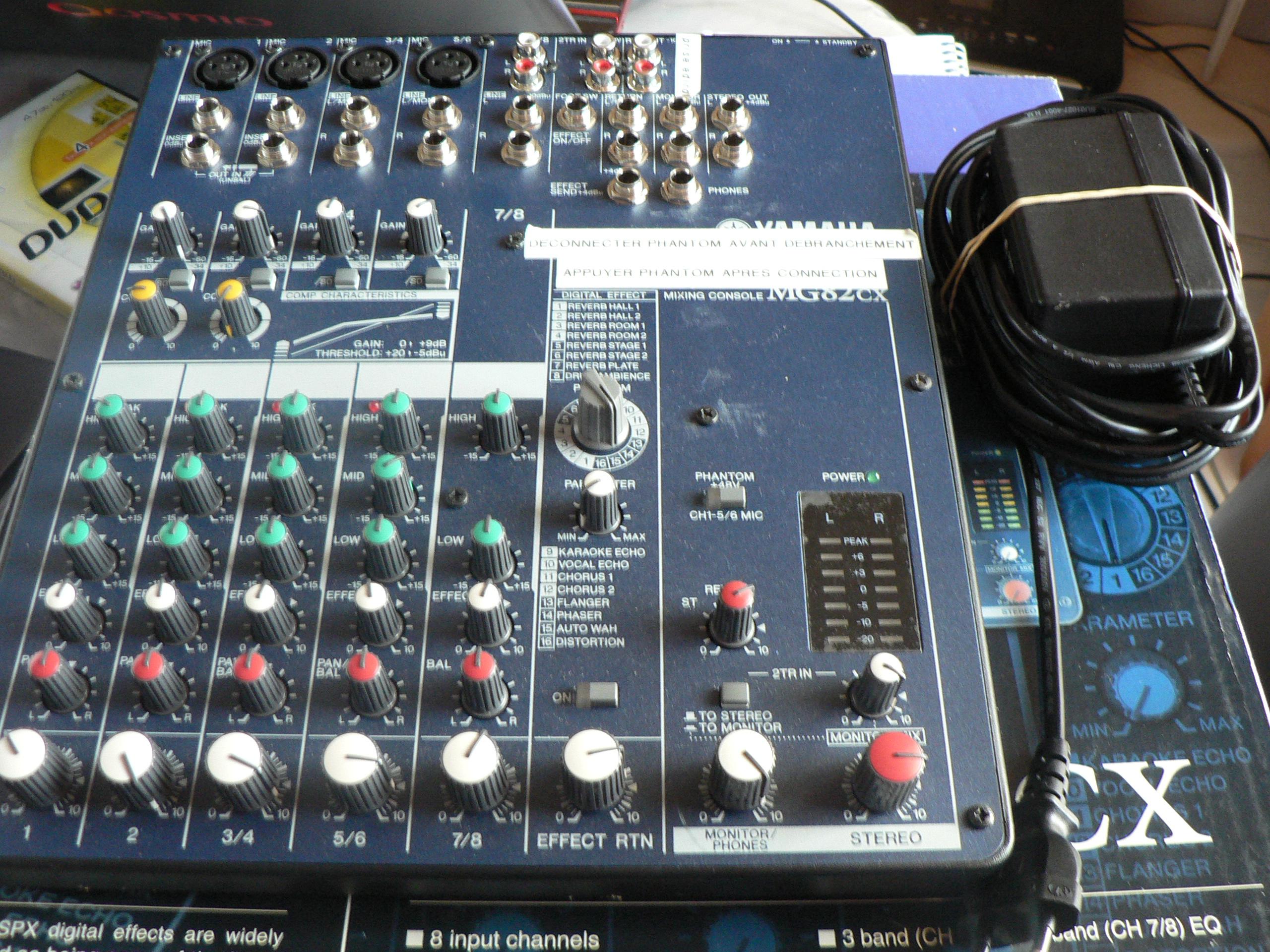 Audio Mixer Yamaha Mg Cx