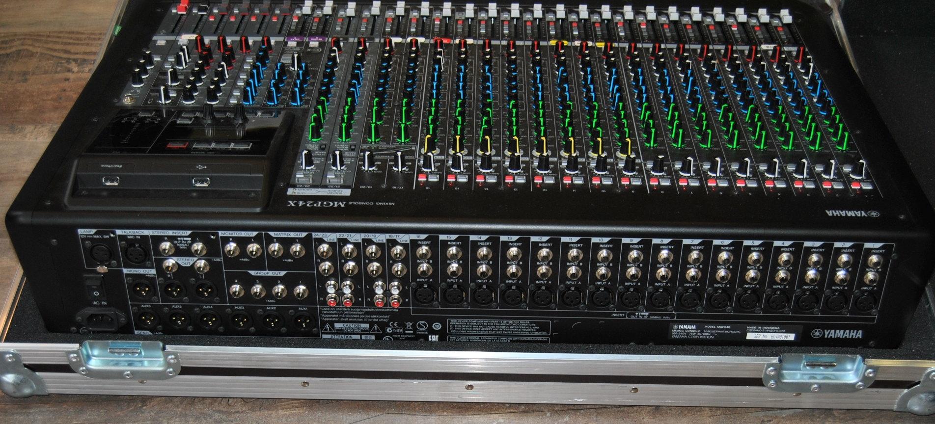 Mgp24x yamaha mgp24x audiofanzine for Yamaha mgp24x 24
