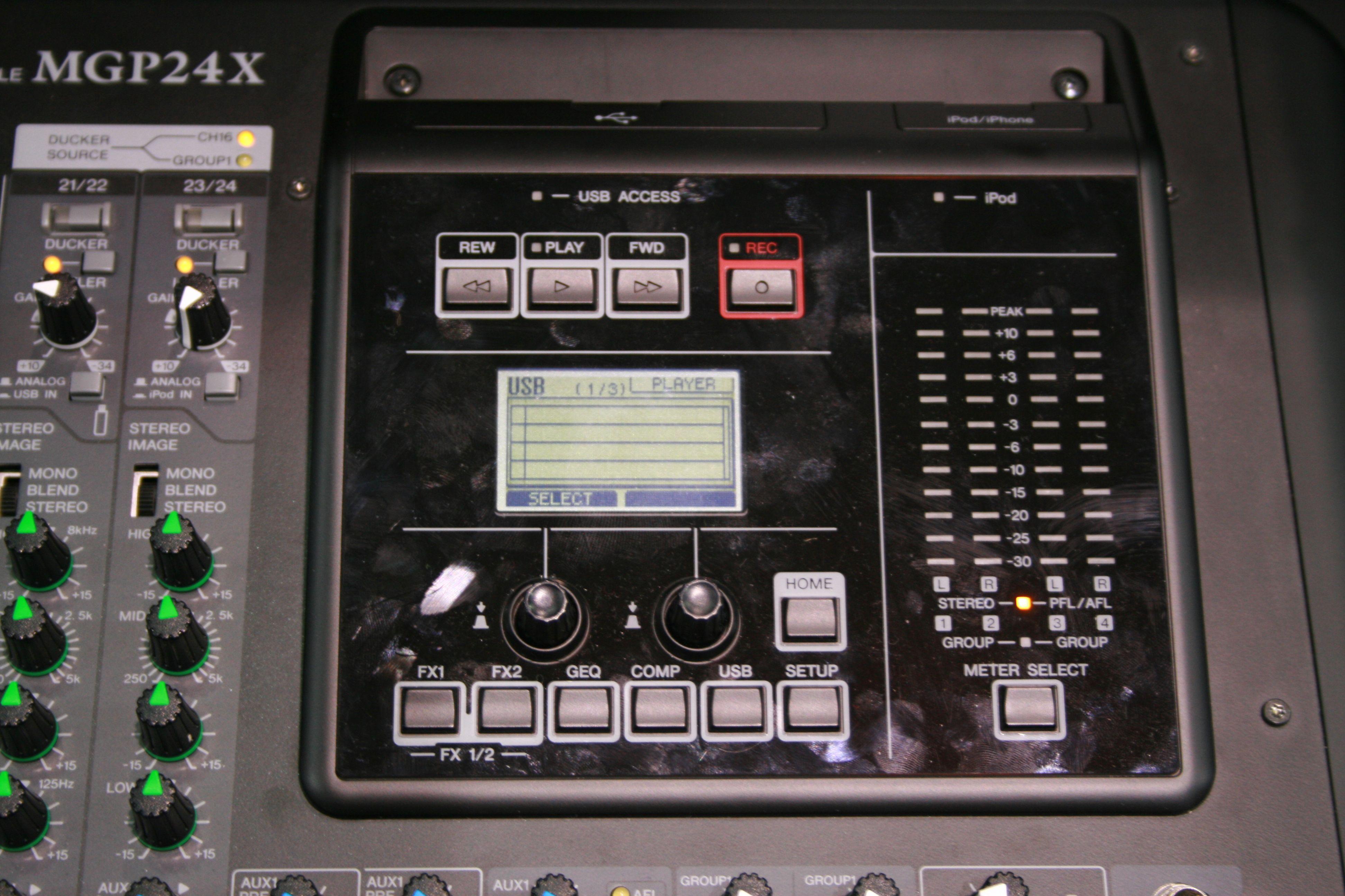 yamaha mgp24x image 589751 audiofanzine