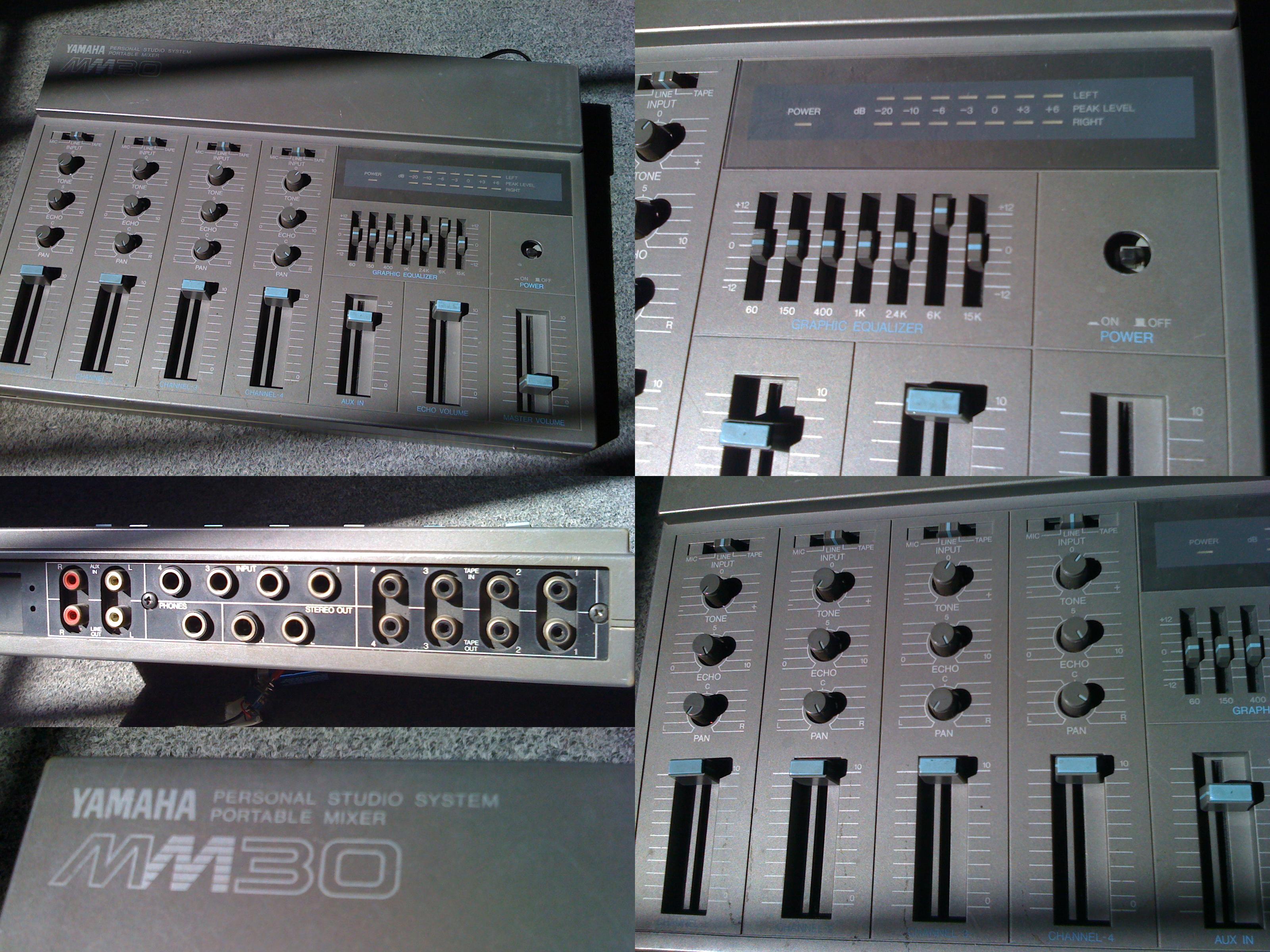 Table de mixage yamaha mm 30 avec cho int gr ile de france audiofanzine for Table yamaha