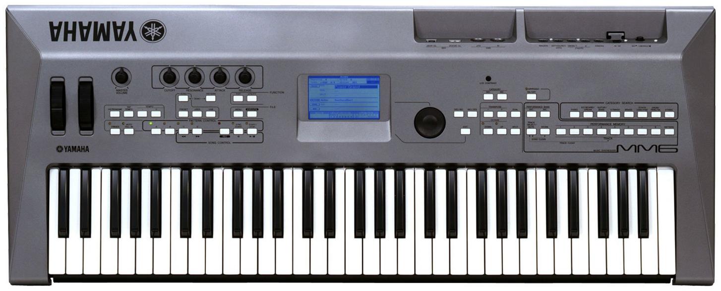 yamaha mm6 image 1660333 audiofanzine rh en audiofanzine com Yamaha MO6 Sam Ash Yamaha MX61