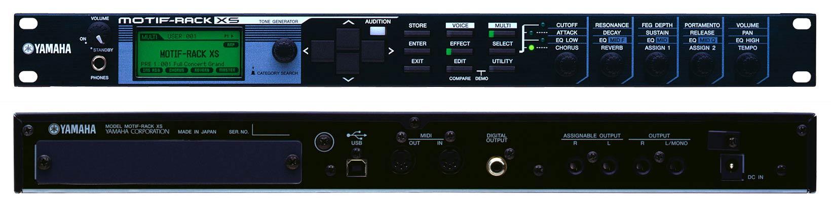 Yamaha Motif Sound Module
