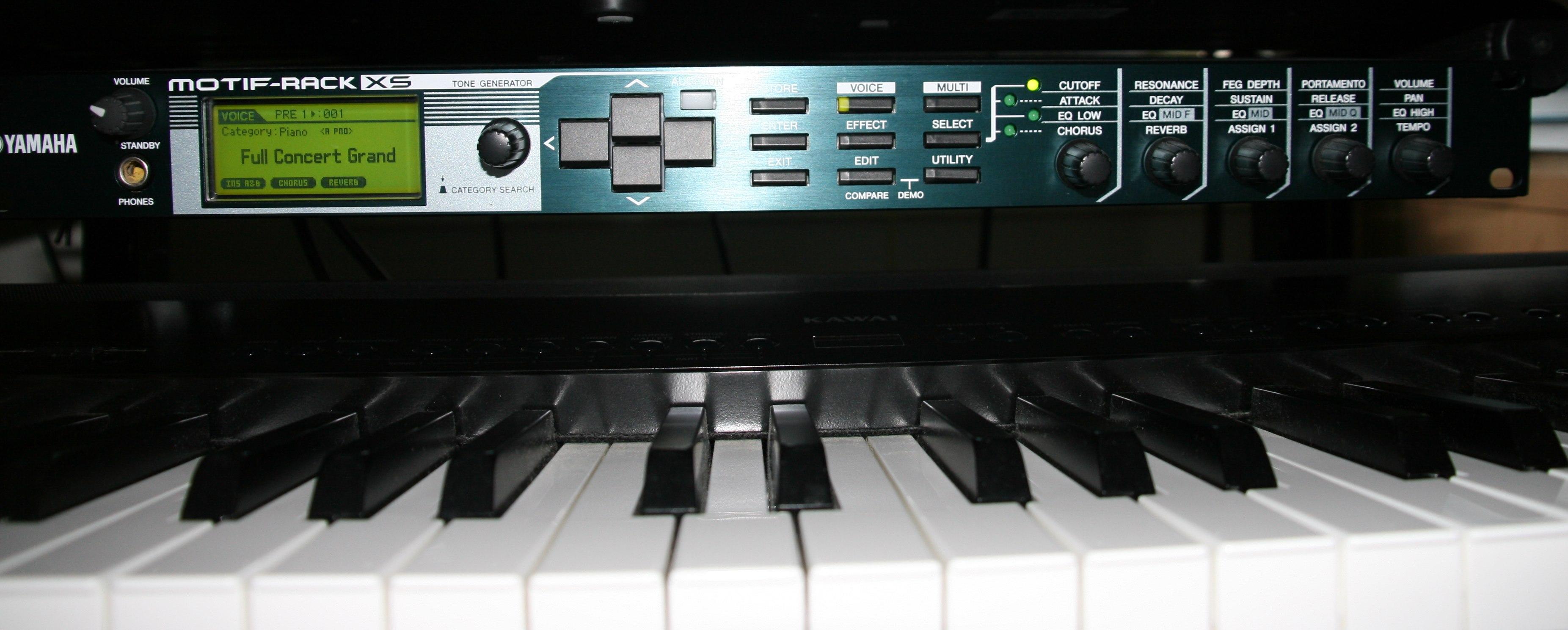yamaha motif rack xs image 760752 audiofanzine. Black Bedroom Furniture Sets. Home Design Ideas