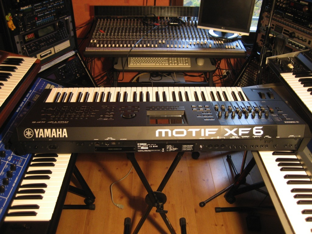 Yamaha Motif XF Mini-Review : Big Bad Workstation - Audiofanzine