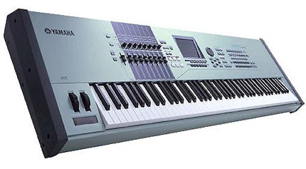 Yamaha motif xs8 image 475065 audiofanzine for Yamaha motif sounds download free