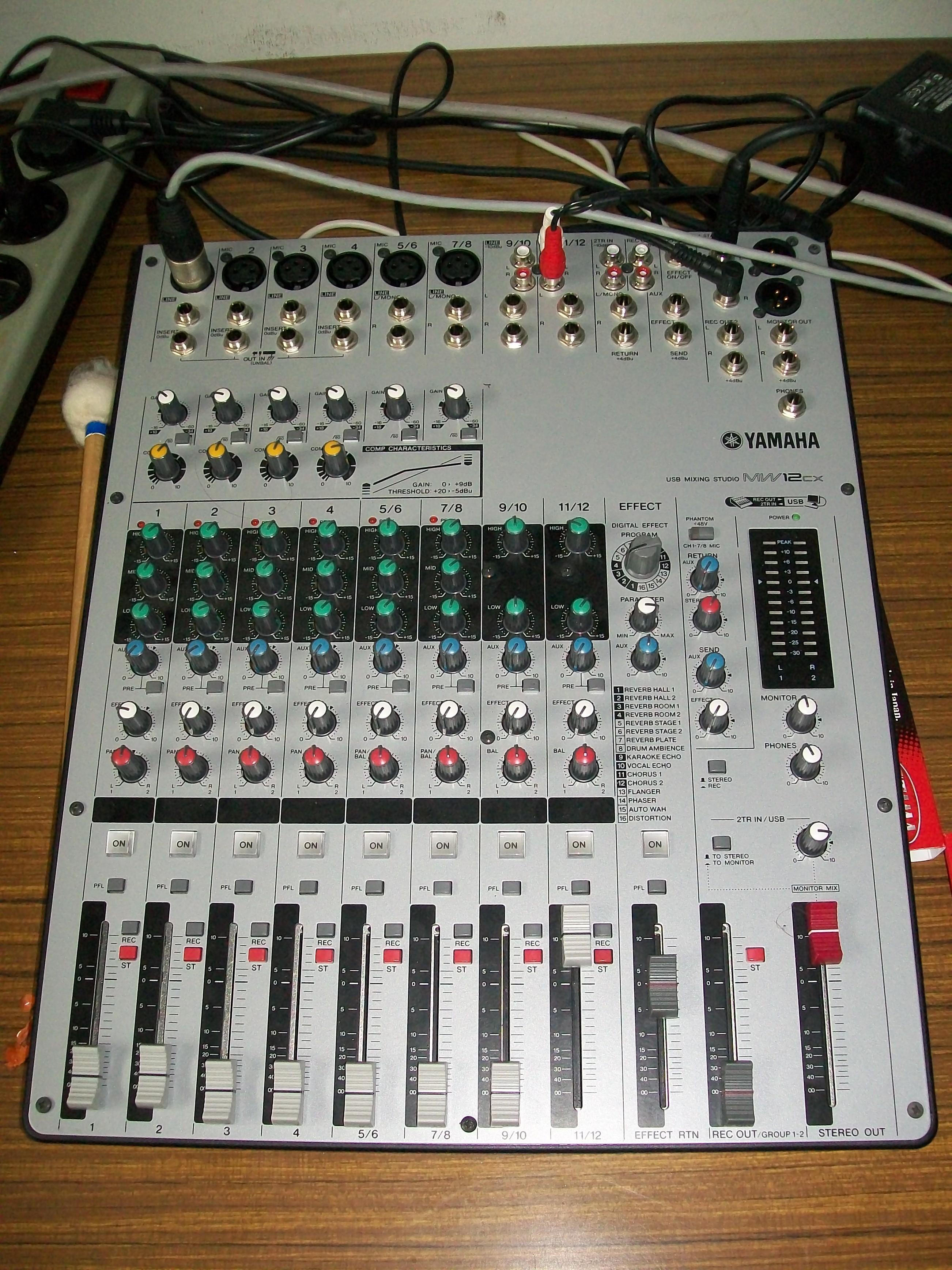 Yamaha MW12C 2 user manual