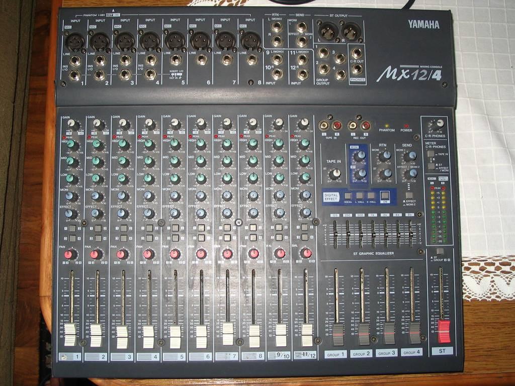 Photo yamaha mx12 4 yamaha mx 12 4 71641 audiofanzine - Vetrocamera 4 12 4 ...