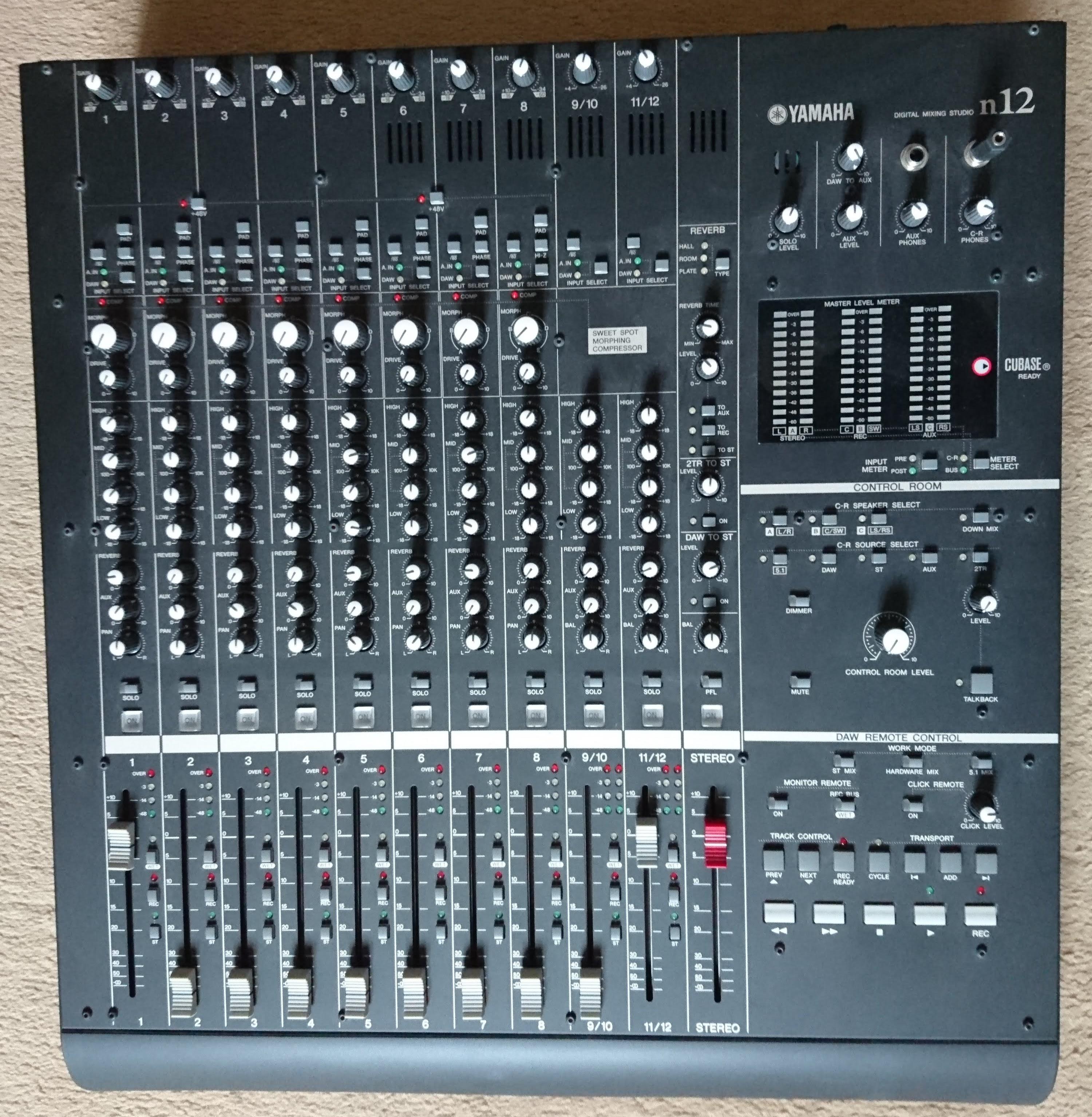 Table de mixage numerique studio yamaha n12 - Table de mixage numerique yamaha ...