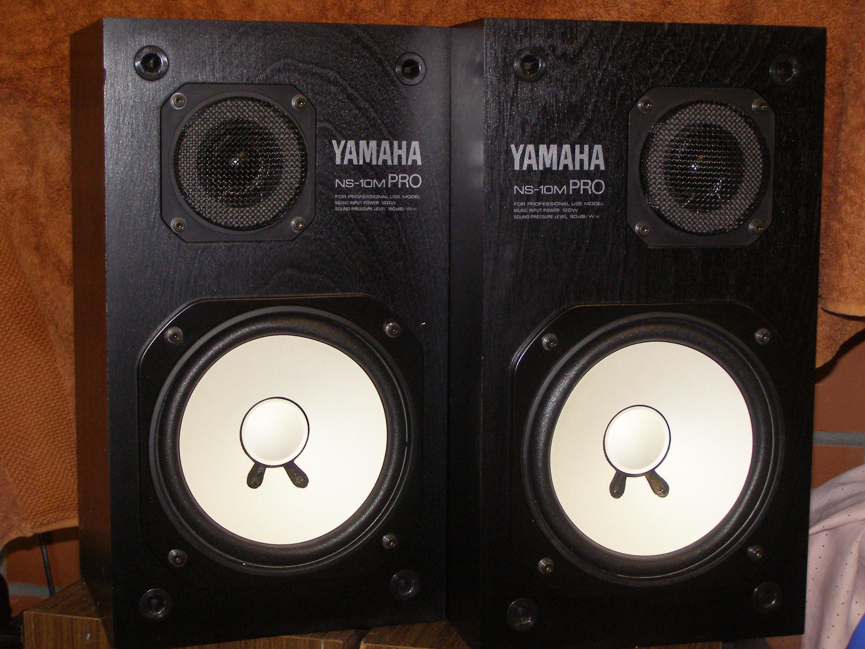 ns 10m pro yamaha ns 10m pro audiofanzine. Black Bedroom Furniture Sets. Home Design Ideas