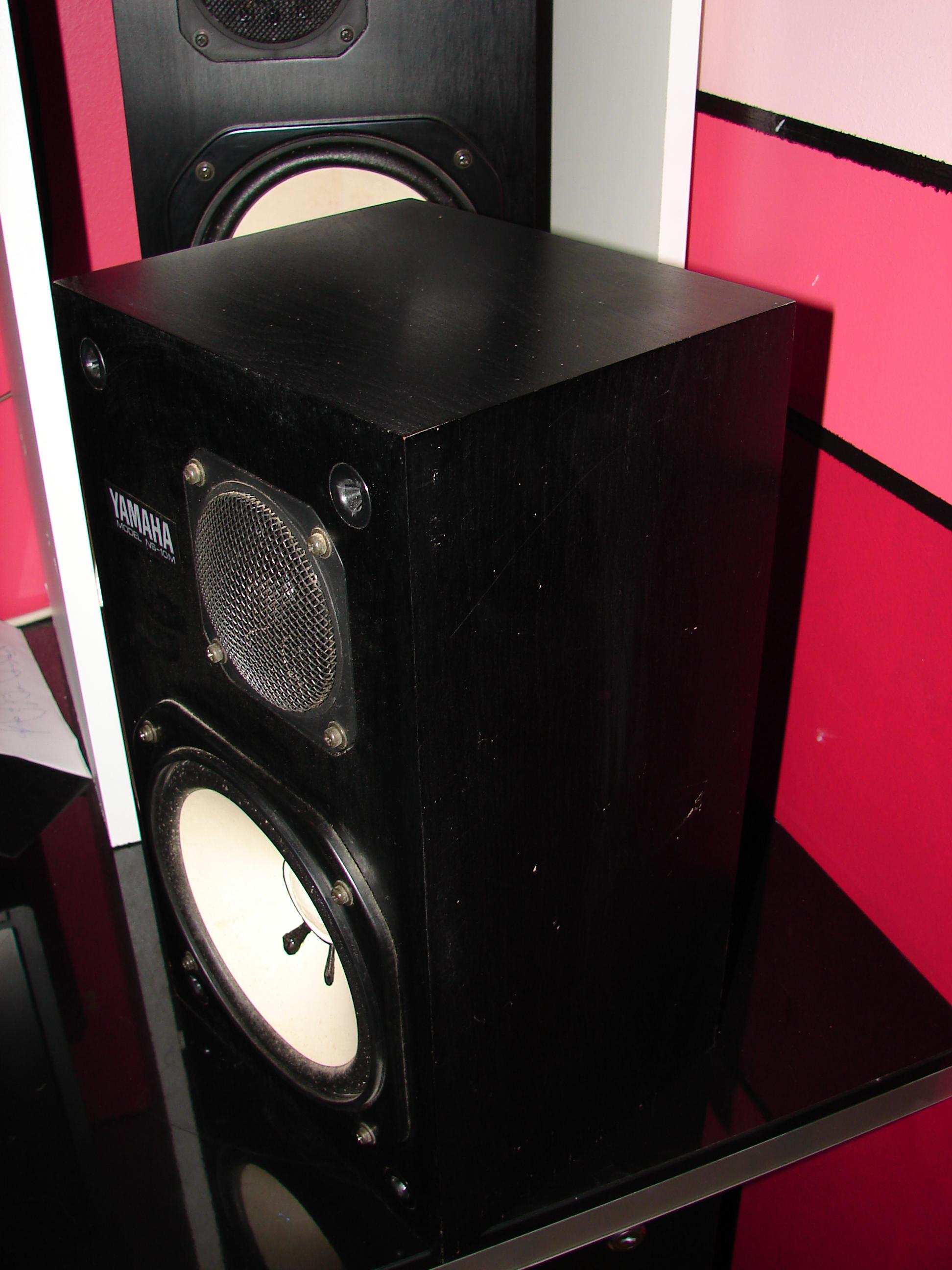yamaha ns 10m studio image 2082049 audiofanzine. Black Bedroom Furniture Sets. Home Design Ideas