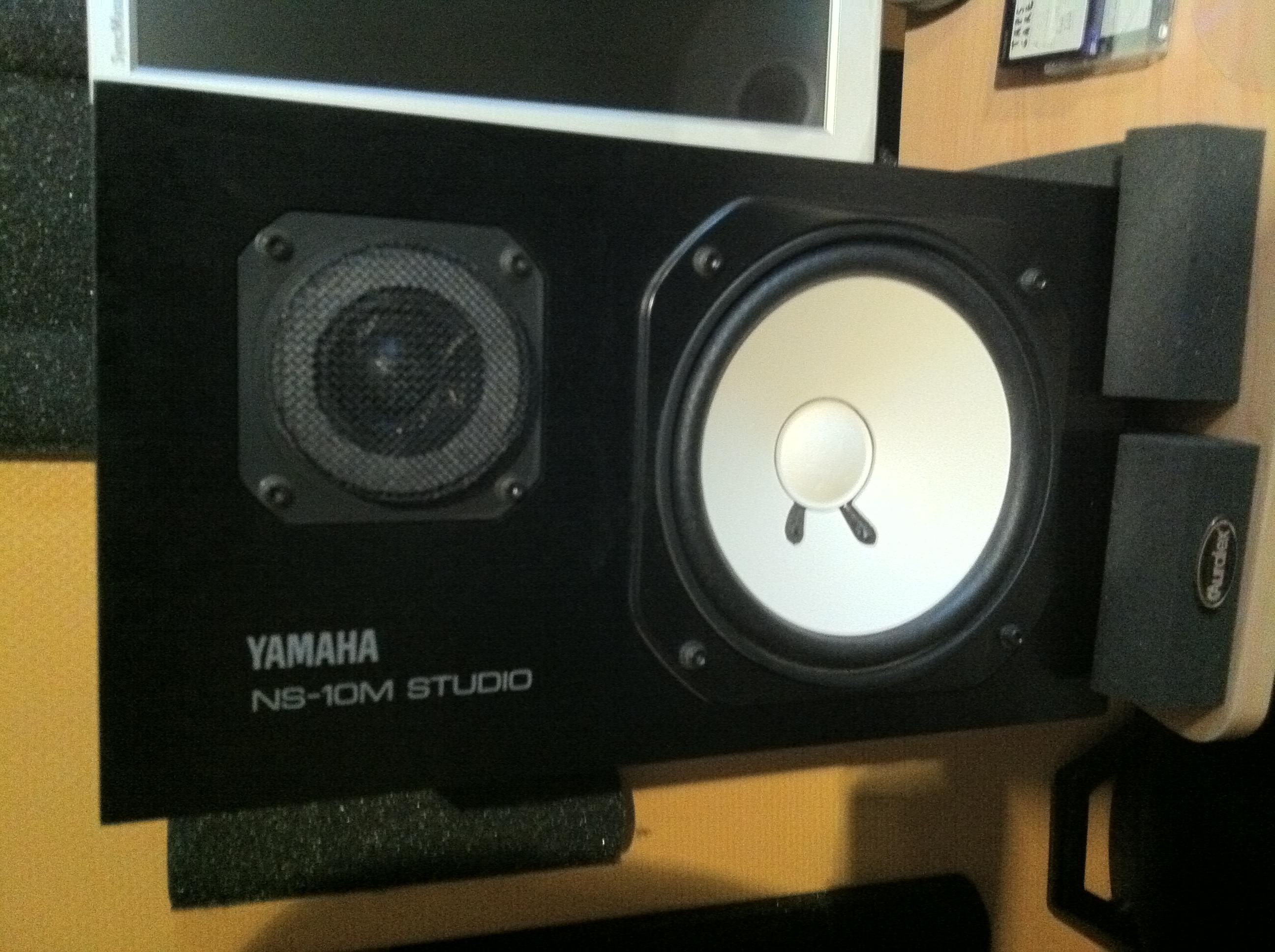 photo yamaha ns 10m studio yamaha ns 10m studio 4935. Black Bedroom Furniture Sets. Home Design Ideas