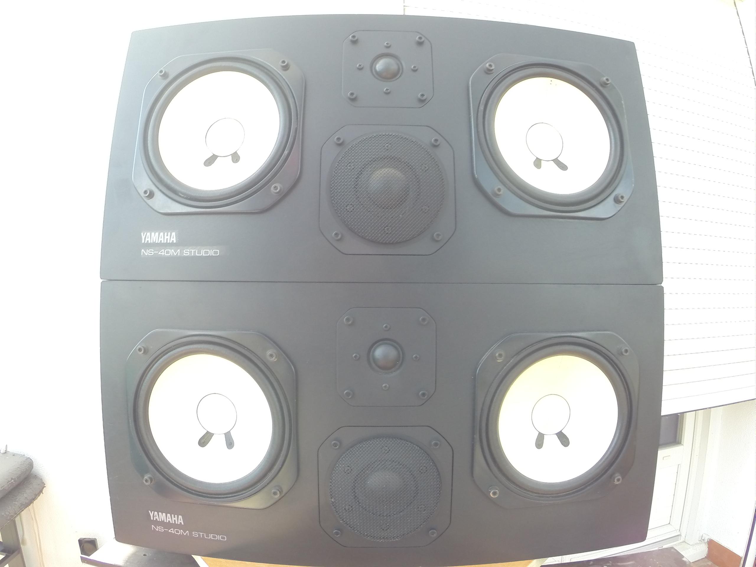 Ns 40m studio yamaha ns 40m studio audiofanzine for Yamaha ns 40