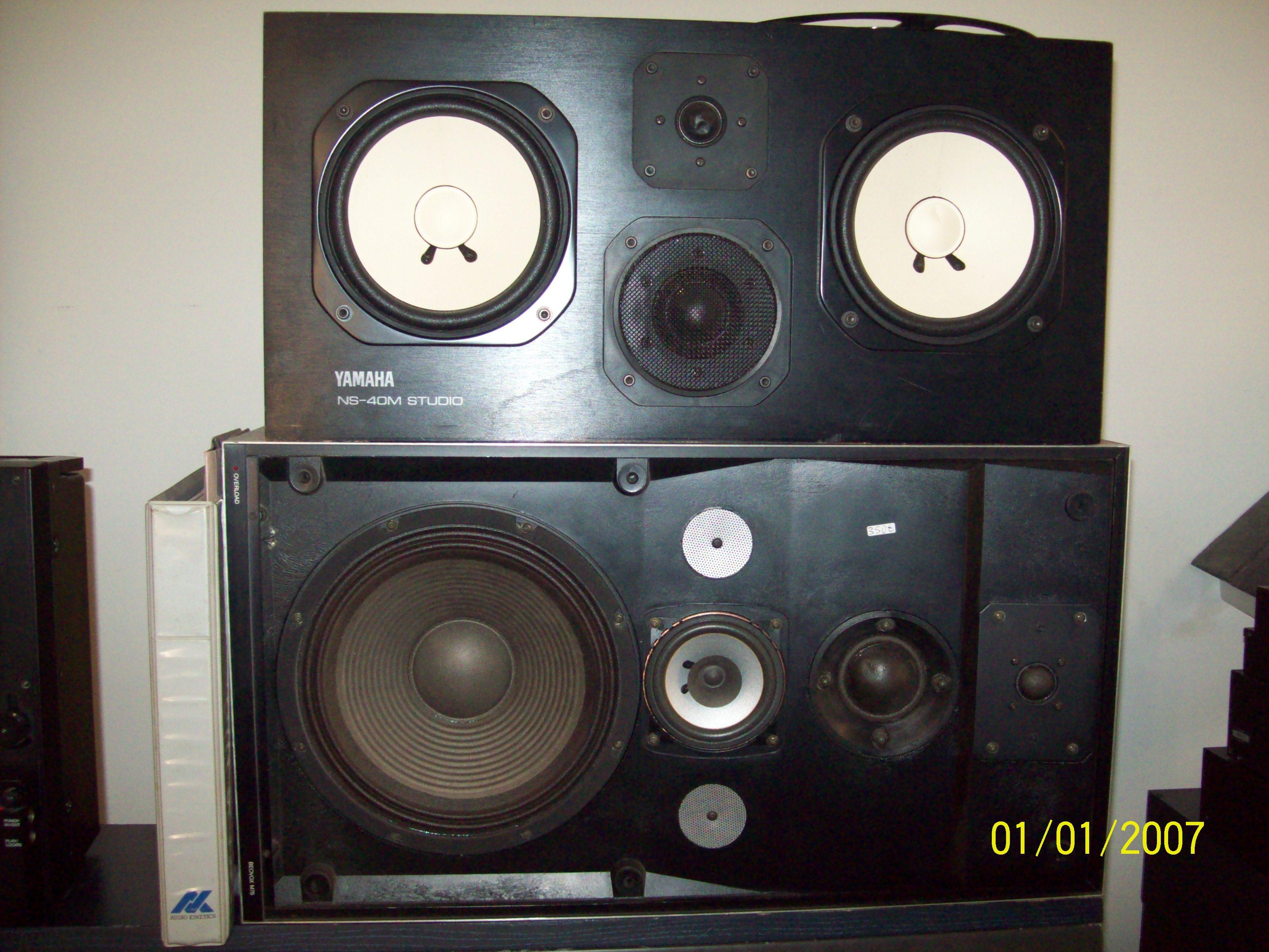 Yamaha ns 40m studio image 343722 audiofanzine for Yamaha ns 40