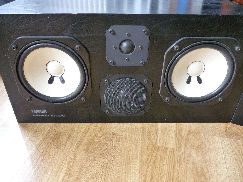 Yamaha NS-40M Studio image (#79507) - Audiofanzine Yamaha Ns