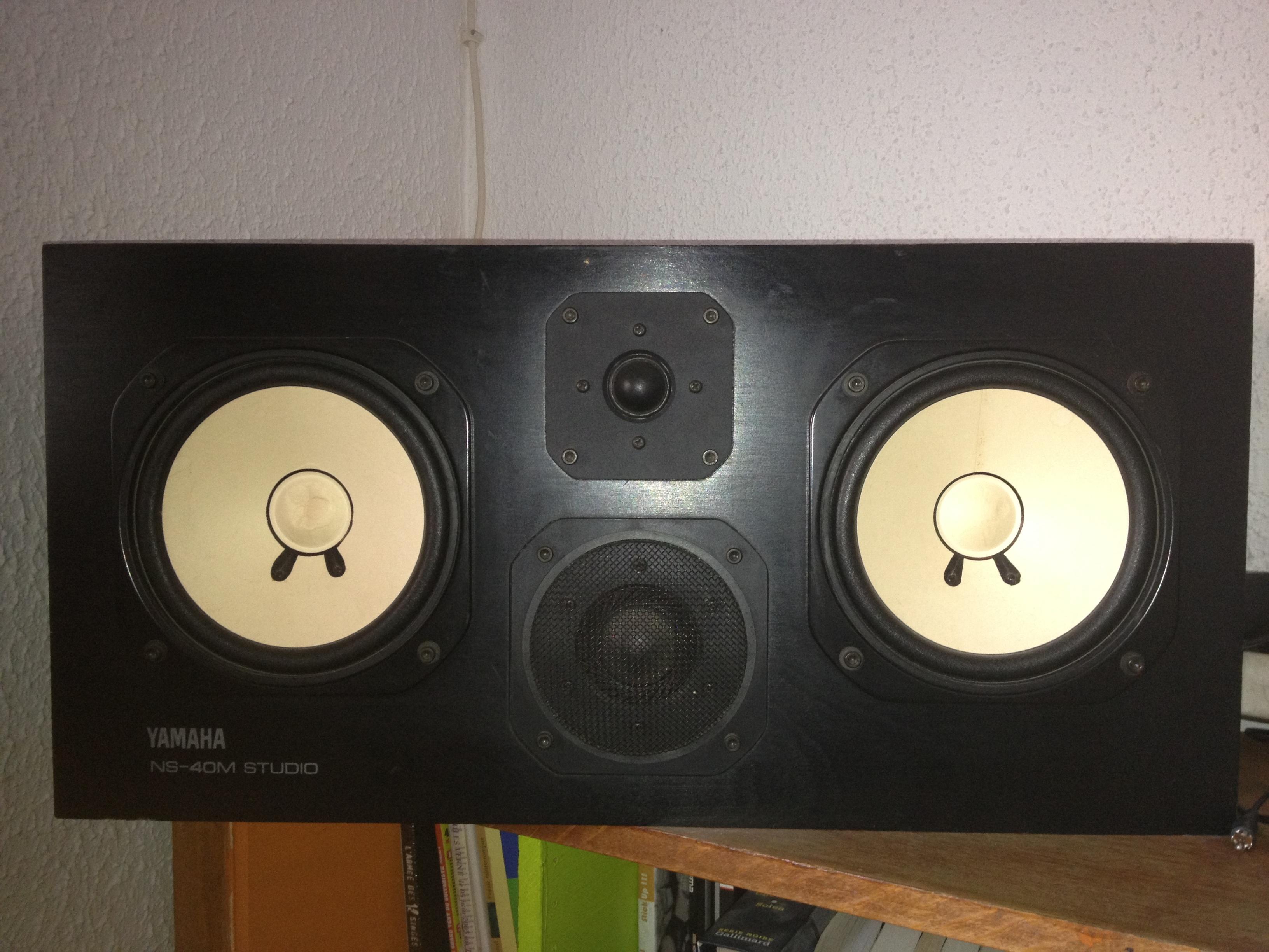 Photo yamaha ns 40m studio yamaha ns 40m studio 6425 for Yamaha ns 40
