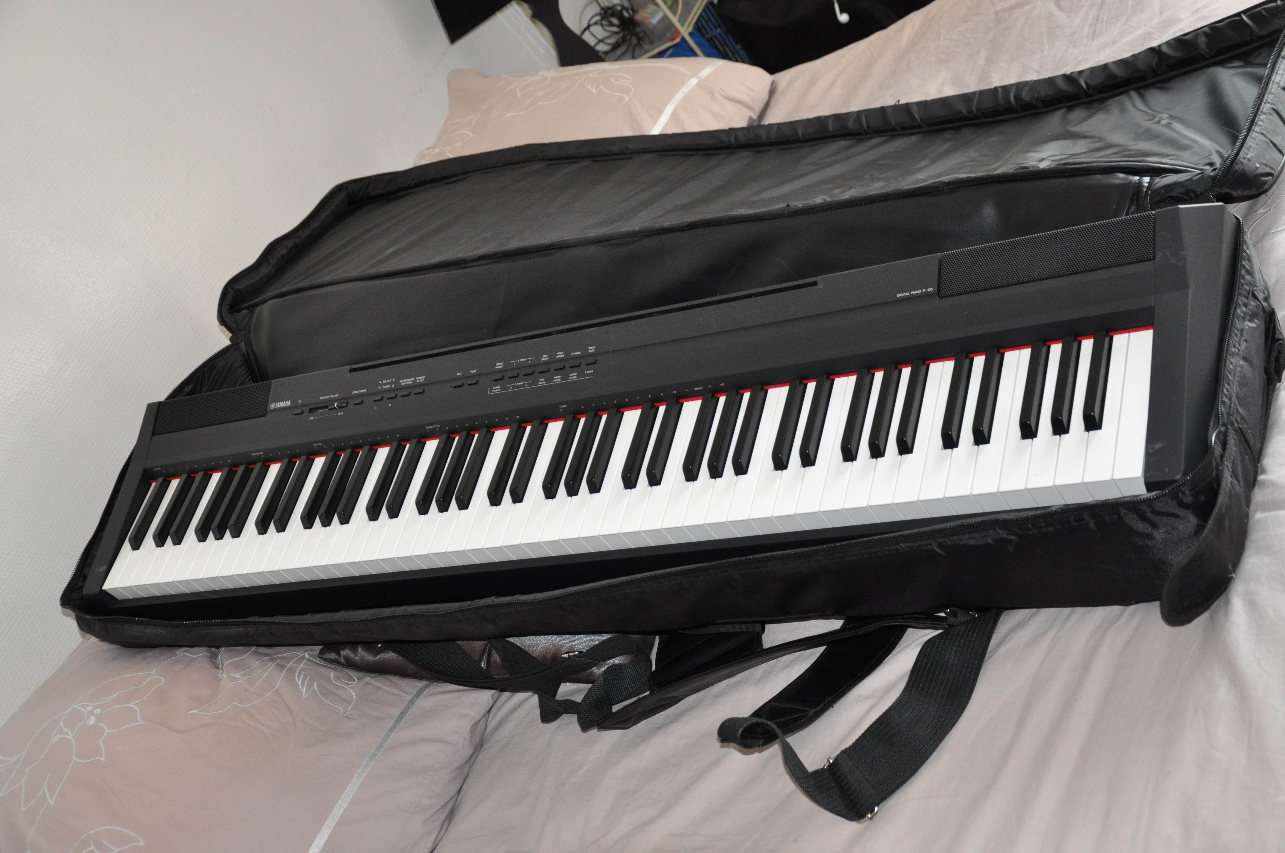 Yamaha p 105 housse ile de france audiofanzine for Housse clavier yamaha