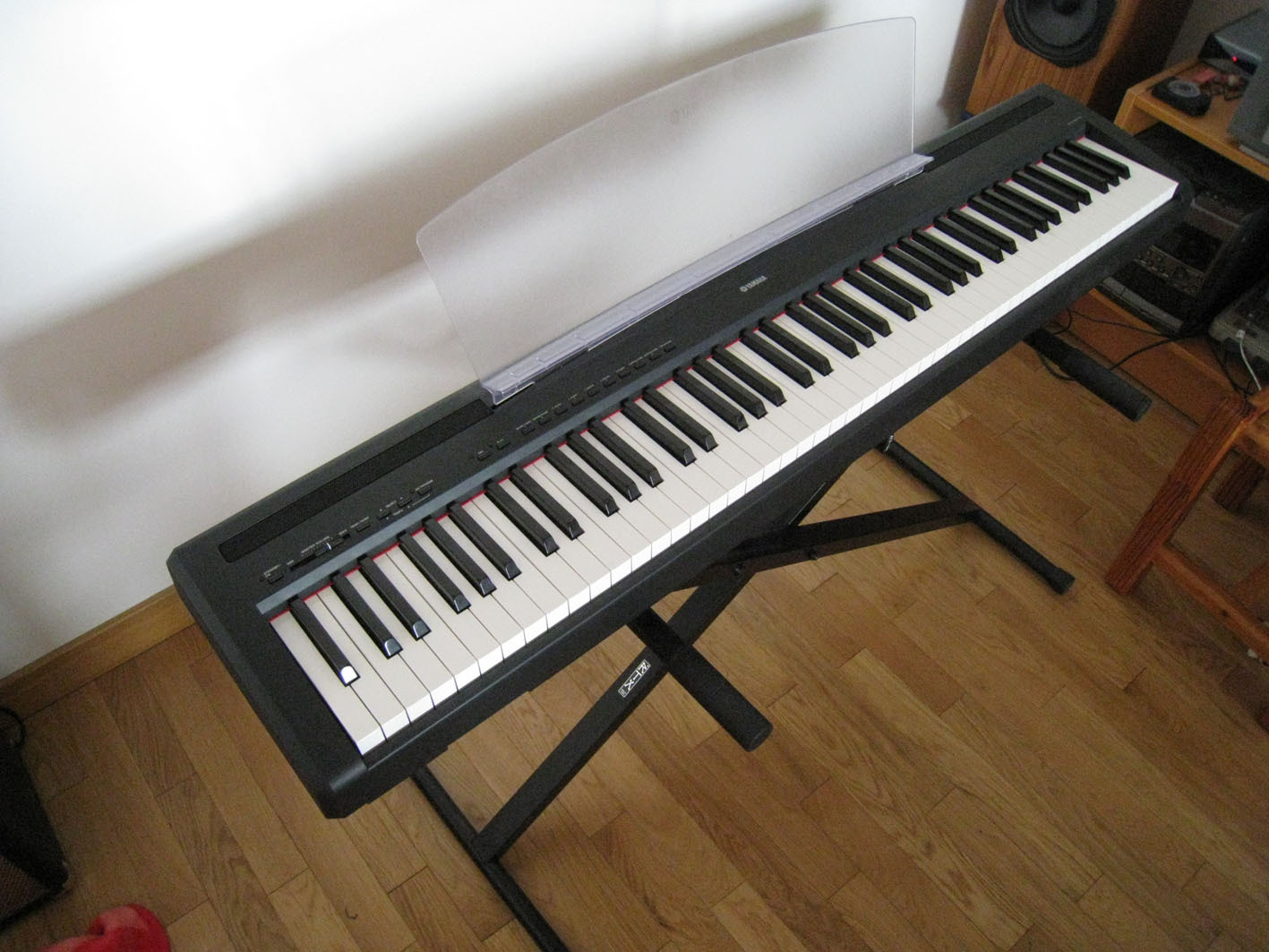 Photo yamaha p 85 yamaha p 85 76629 111526 for Yamaha p85 contemporary digital piano