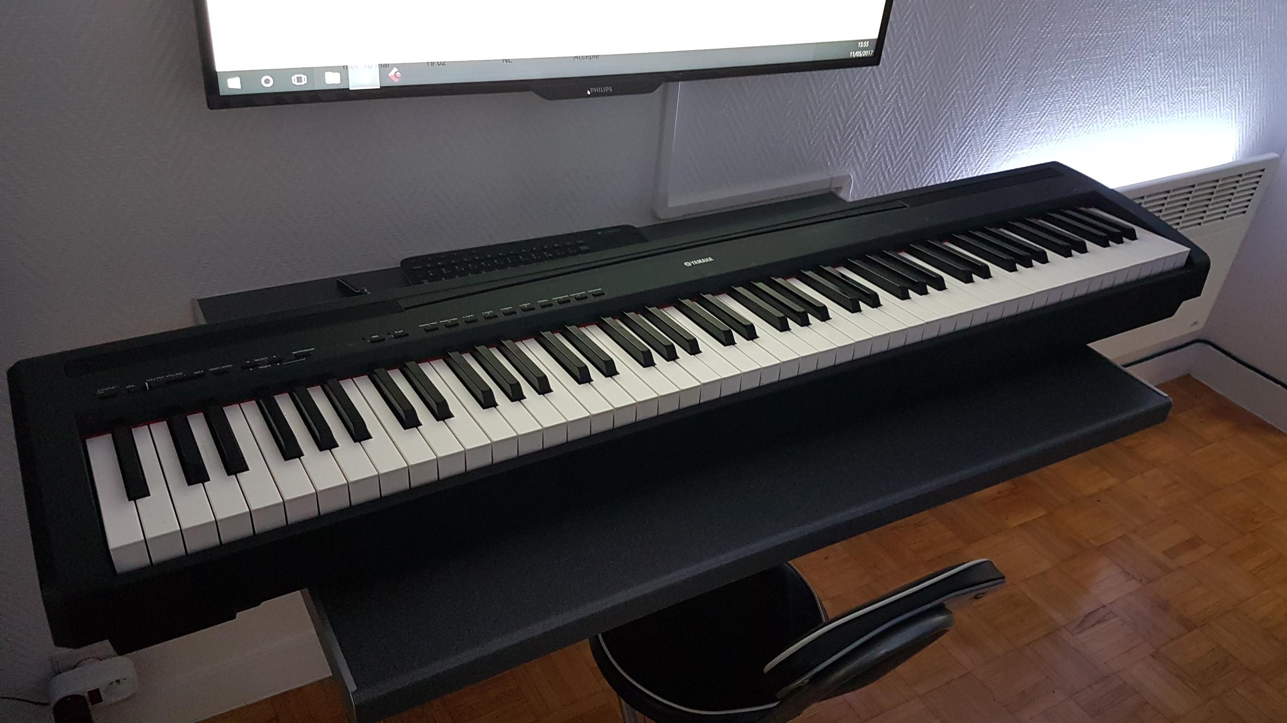 Photo yamaha p 85 clavier yamaha p85 1783472 for Yamaha p85 contemporary digital piano