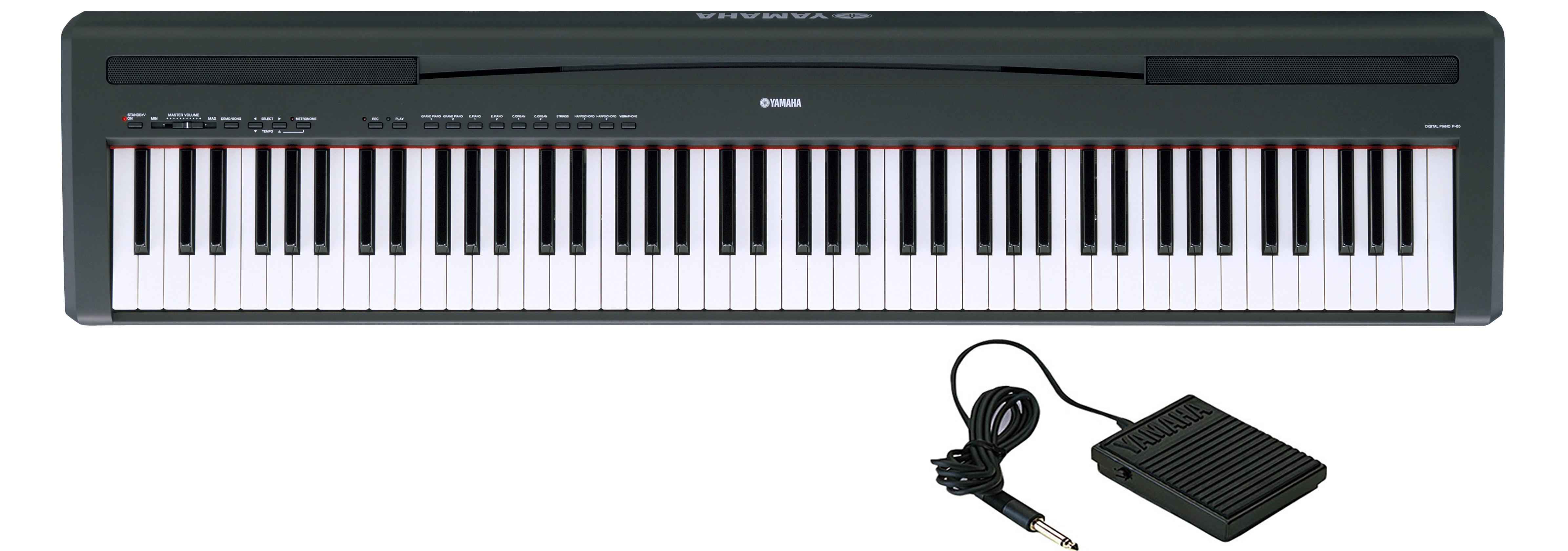 Yamaha p 85 image 457530 audiofanzine for Yamaha digital piano philippines
