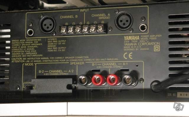 ampli sono yamaha p2500