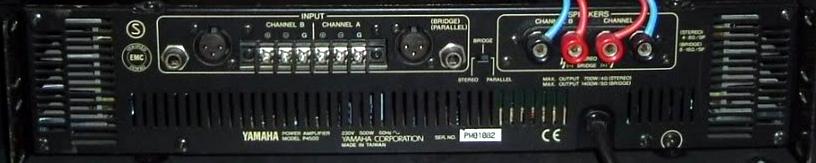 ampli sono yamaha p4500