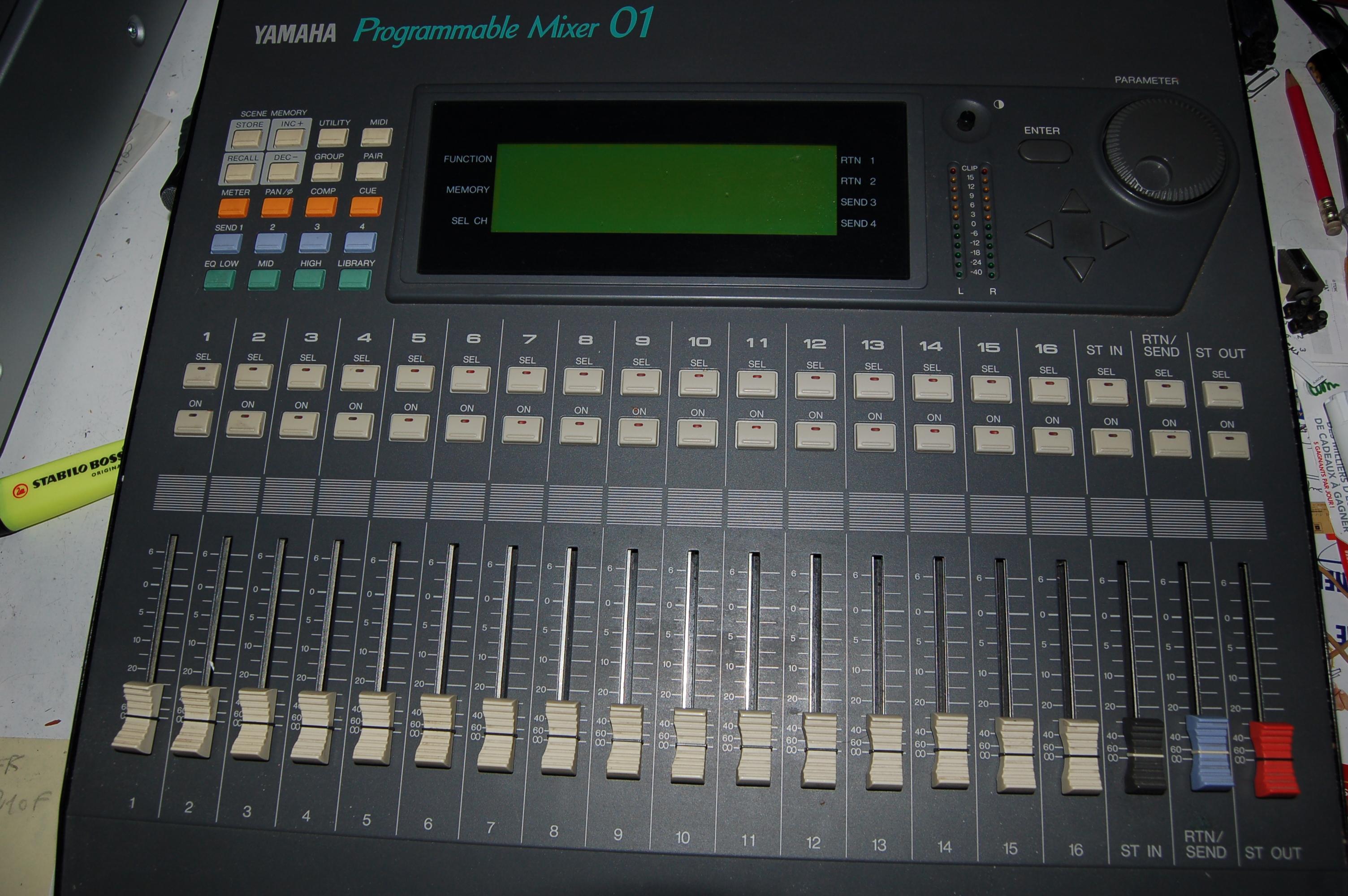 table de mixage 01.net