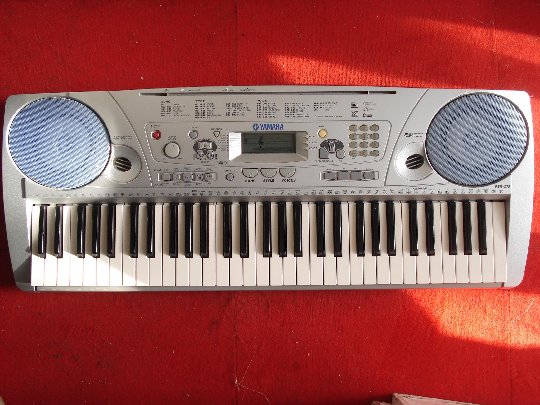 yamaha psr 275 image 307069 audiofanzine rh en audiofanzine com Yamaha PSR 280 Keyboard Parts yamaha keyboard psr 275 user manual