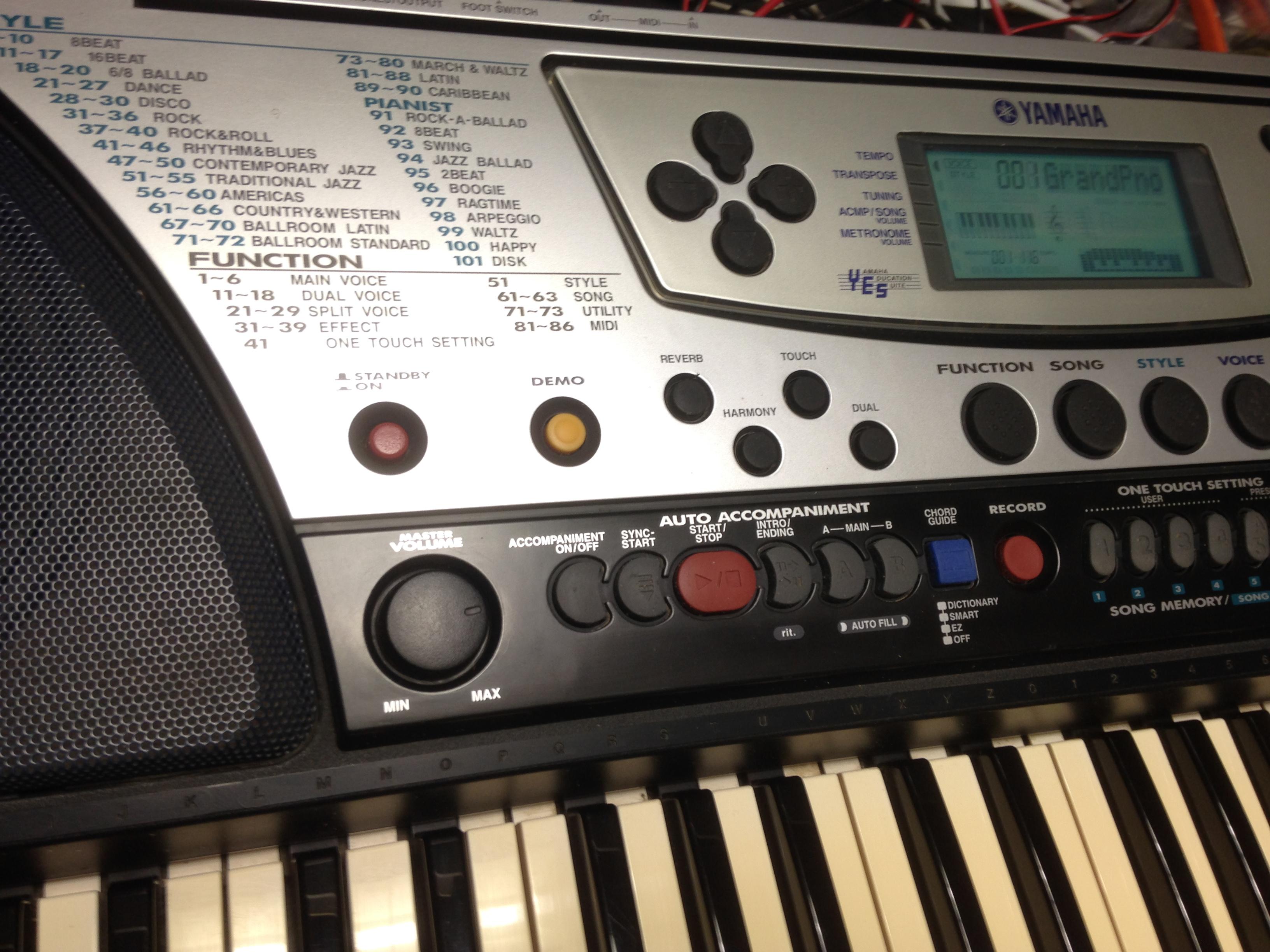 yamaha psr 340 image 2091660 audiofanzine rh en audiofanzine com yamaha psr 340 service manual Yamaha PSR S750
