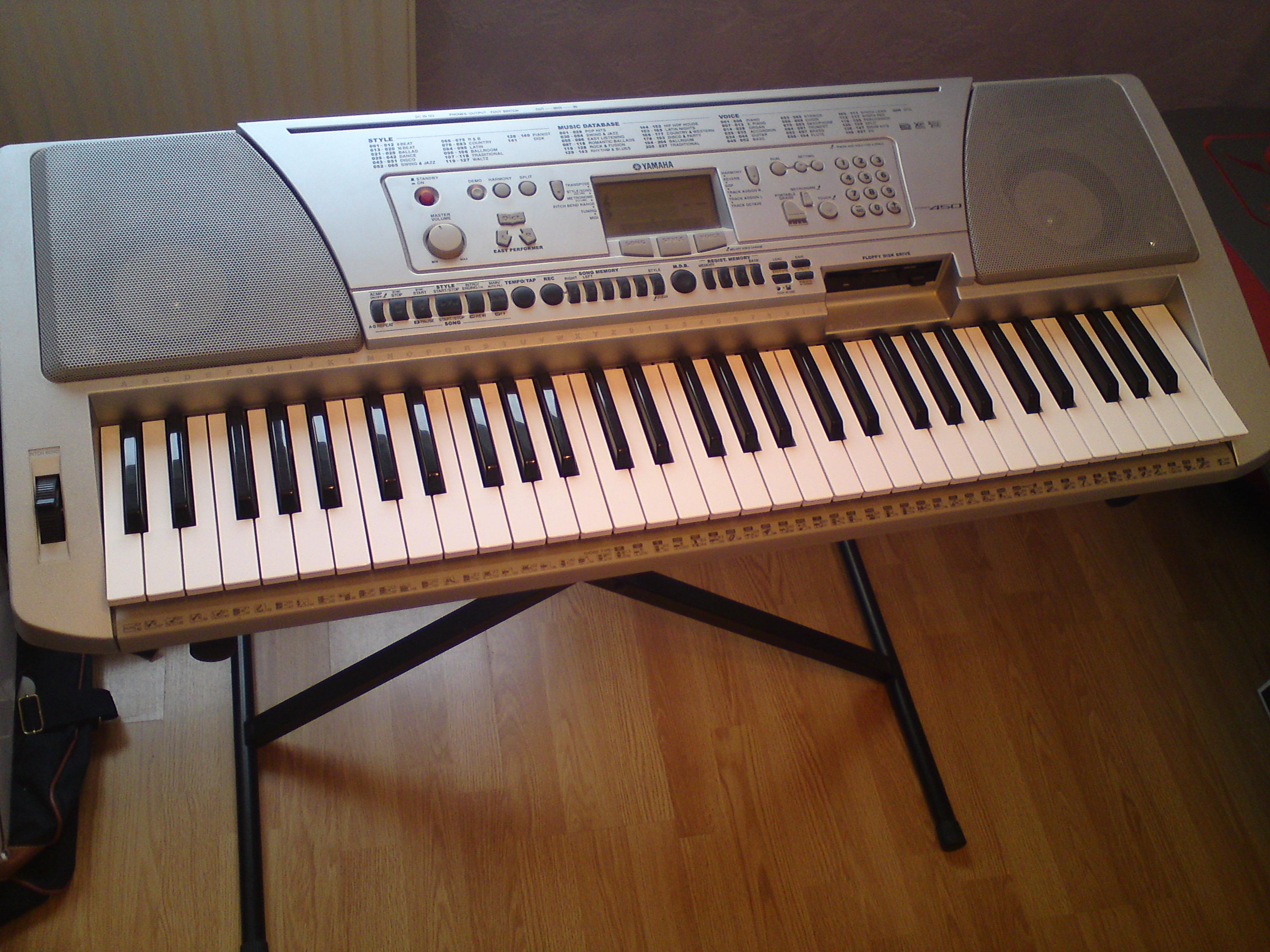 Yamaha psr 450 4