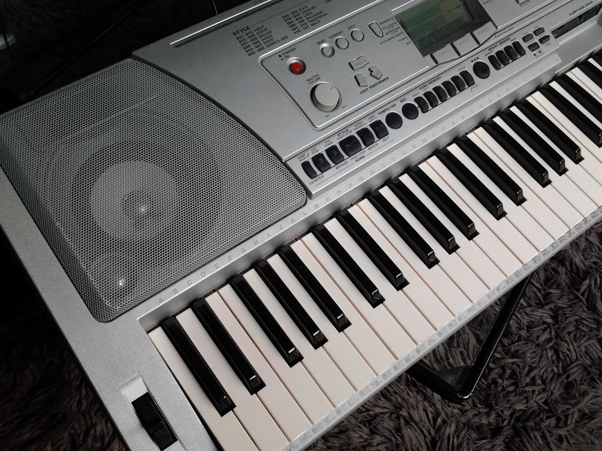 Clavier psr450 tat neuf ile de france audiofanzine for Yamaha psr 190 manual
